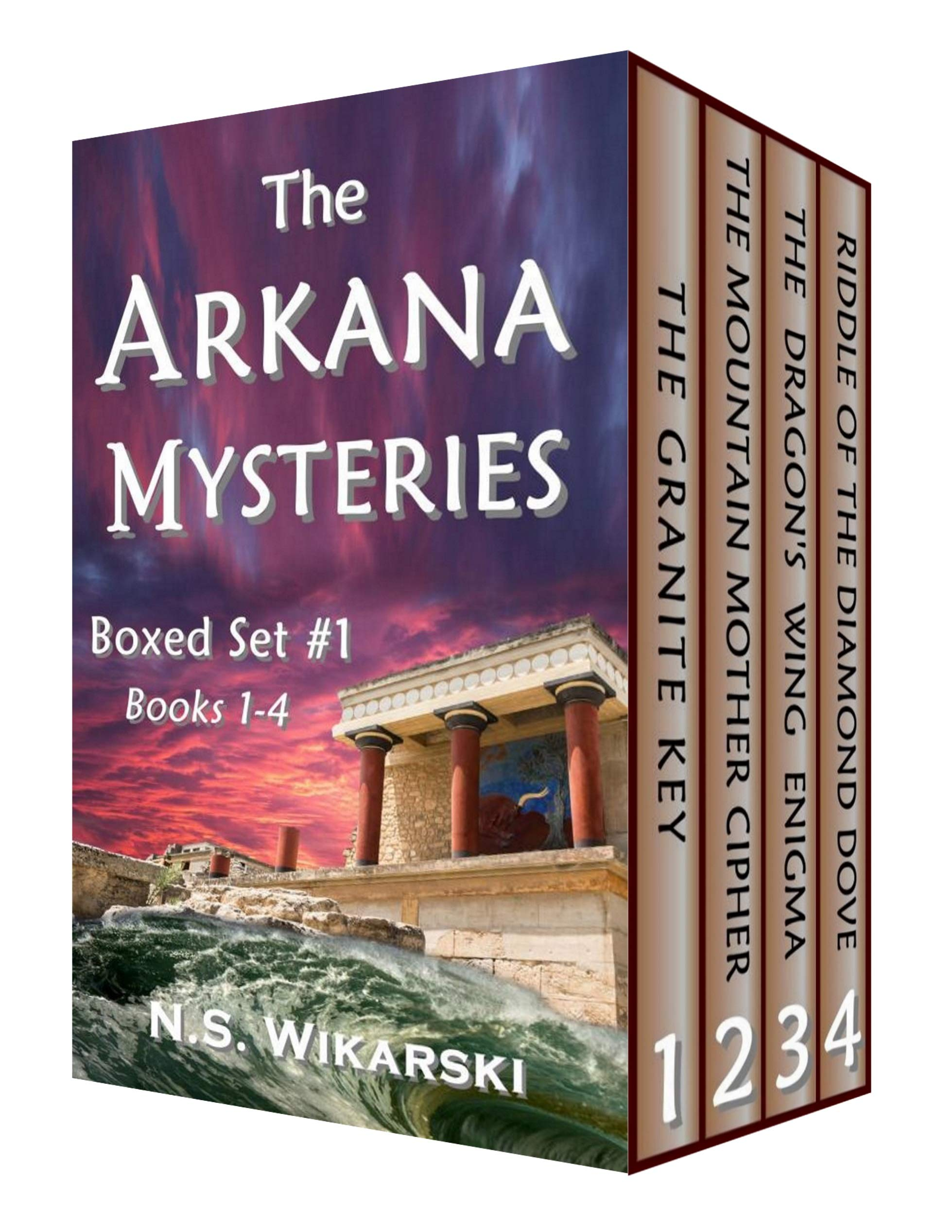 The Arkana Mysteries: Boxed Set #1: Books 1-4 (The Arkana Mysteries: Ebook Boxed Set)