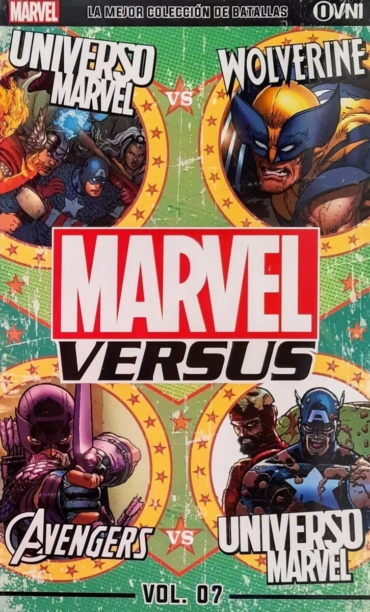 Marvel Versus Volumen 7
