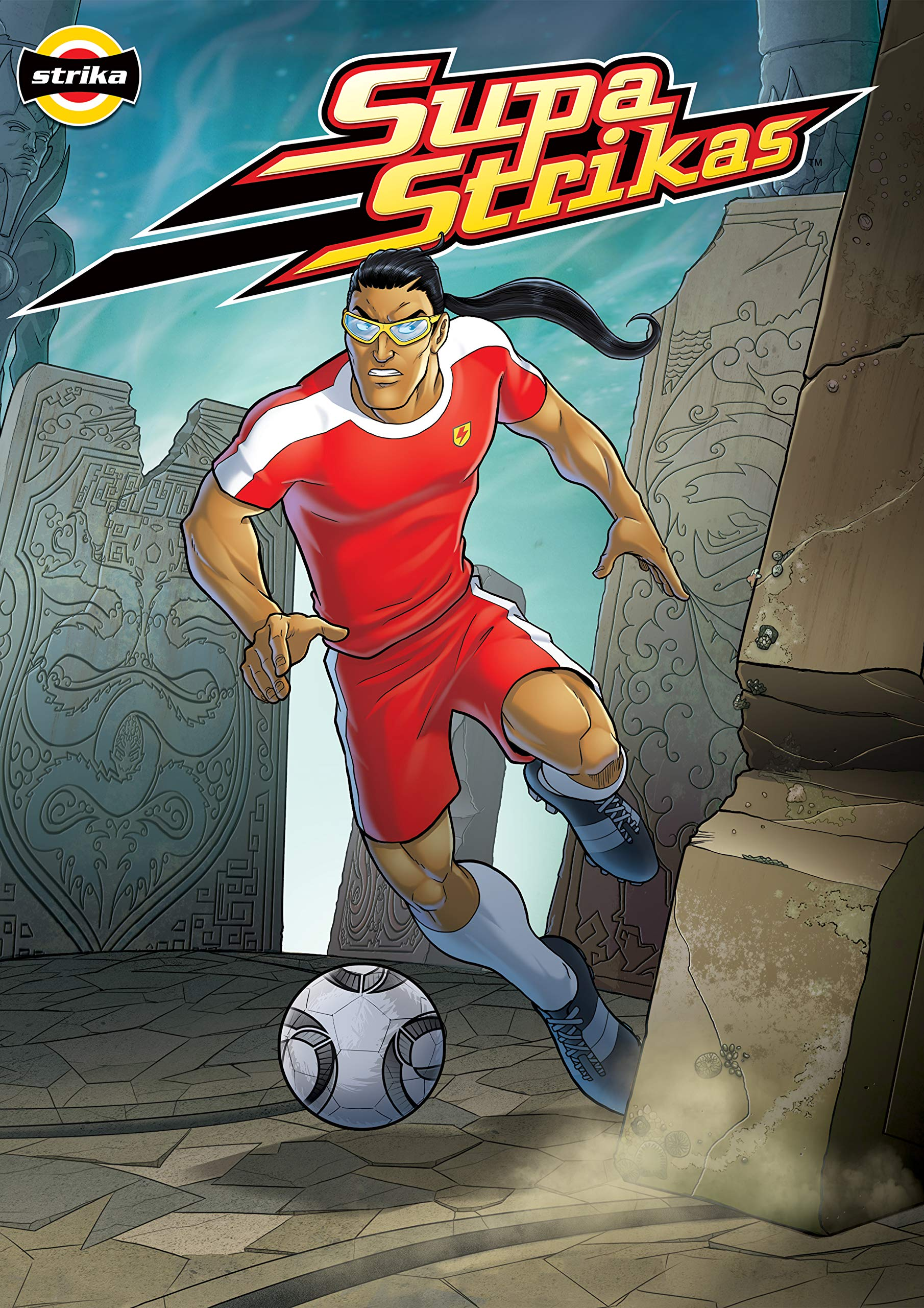 Supa Strikas - Dry Spell : Sports Illustrated Kids Graphic Novels - Comics for Children - Soccer Comics for Kids (Supa Strikas Kick Off Book 2)