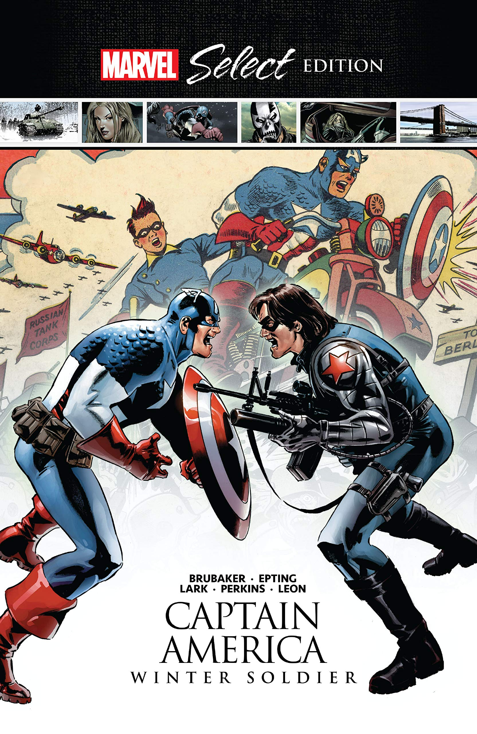 Captain America: Winter Soldier Marvel Select