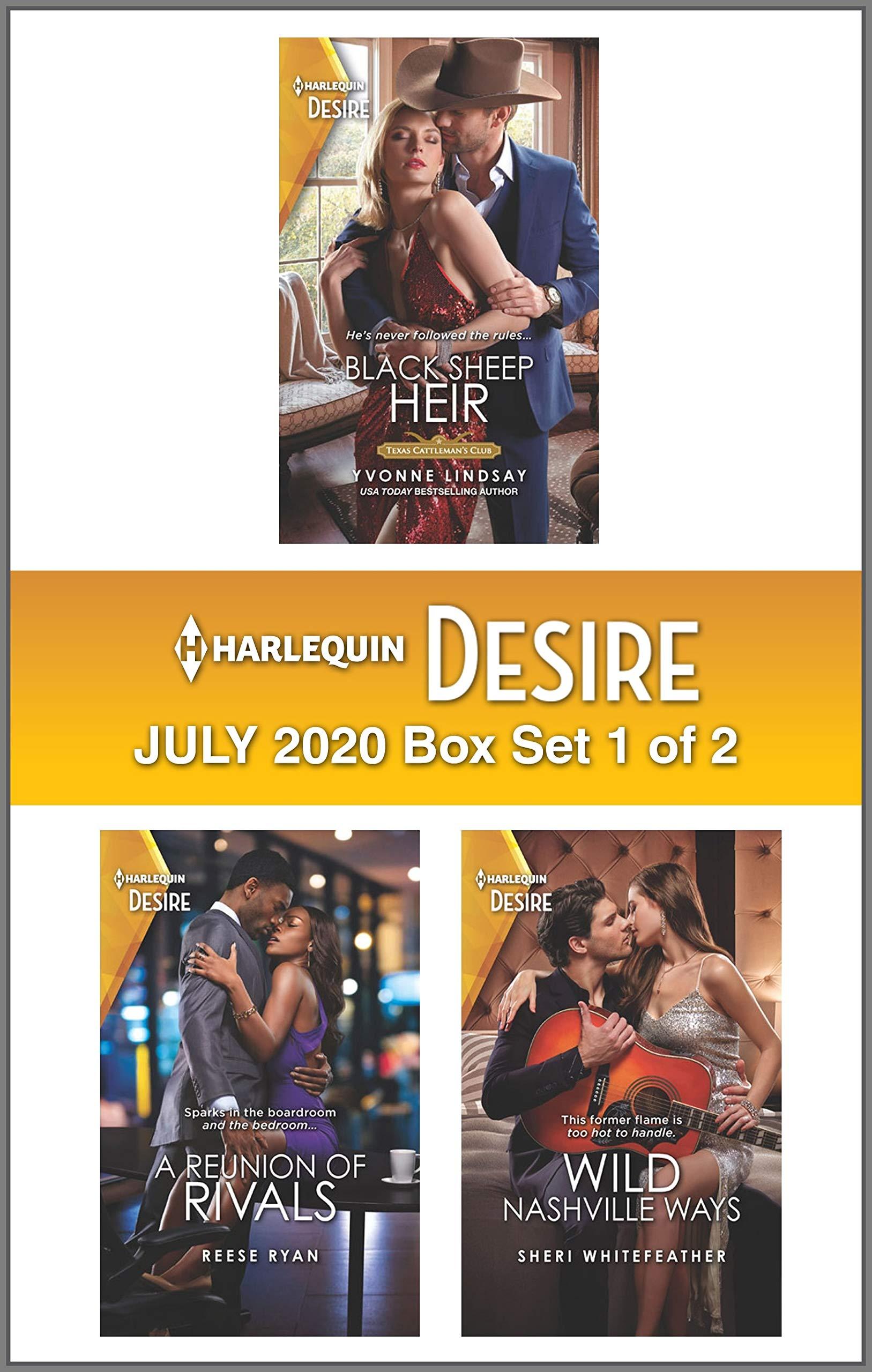 Harlequin Desire July 2020 - Box Set 1 of 2