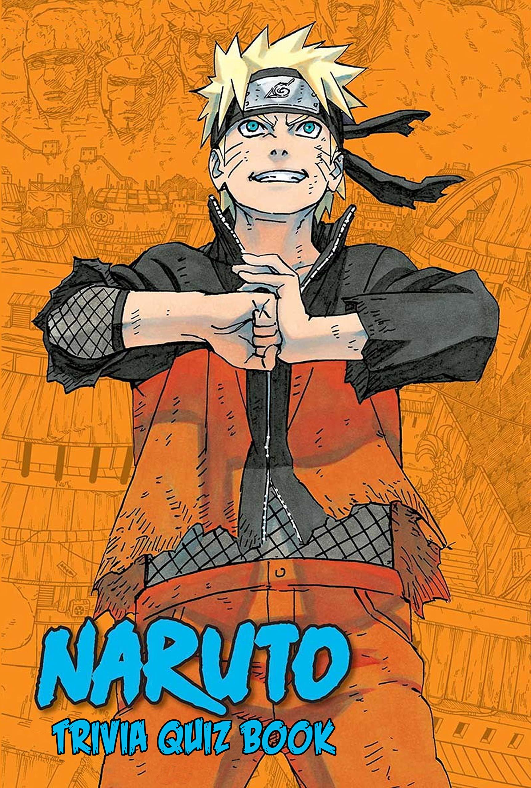 Naruto: Trivia Quiz Book