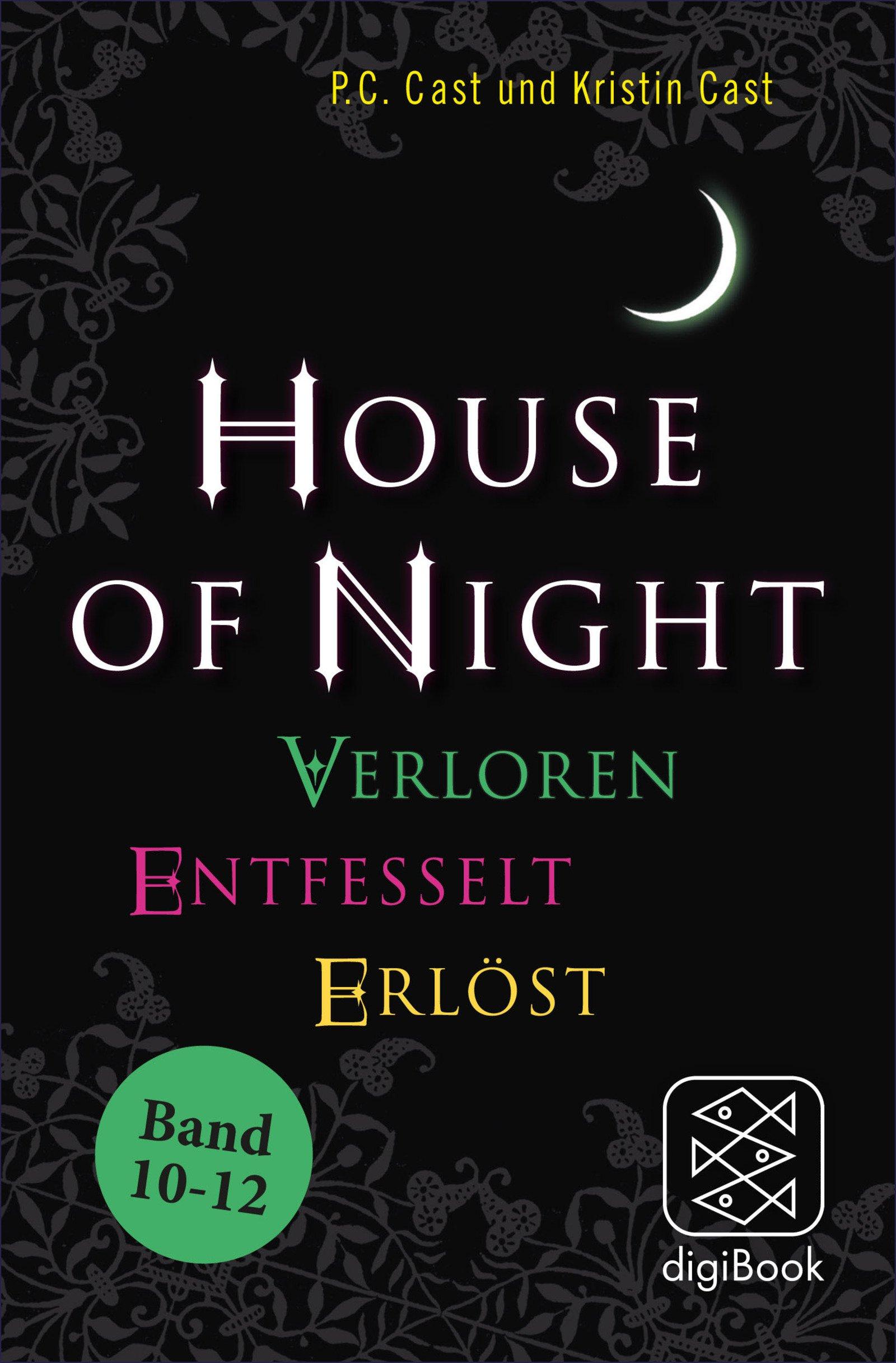 »House of Night« Paket 4 (Band 10-12): Verloren / Entfesselt / Erlöst