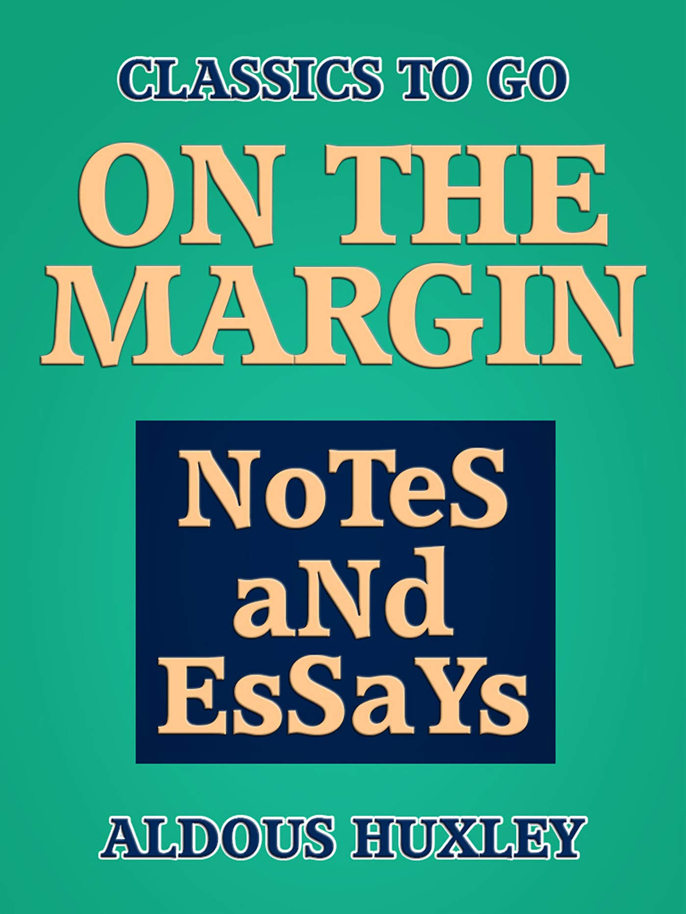 On the Margin: Notes and Essays