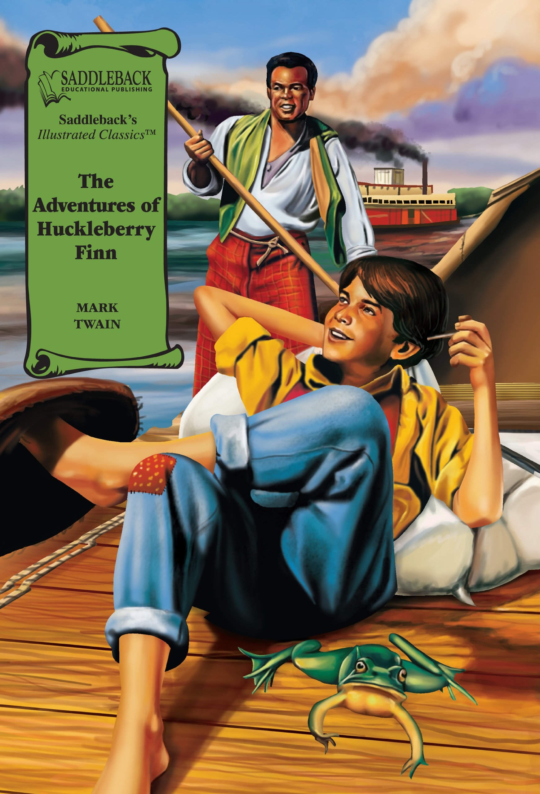 The Adventures of Huckleberry Finn Graphic Novel
