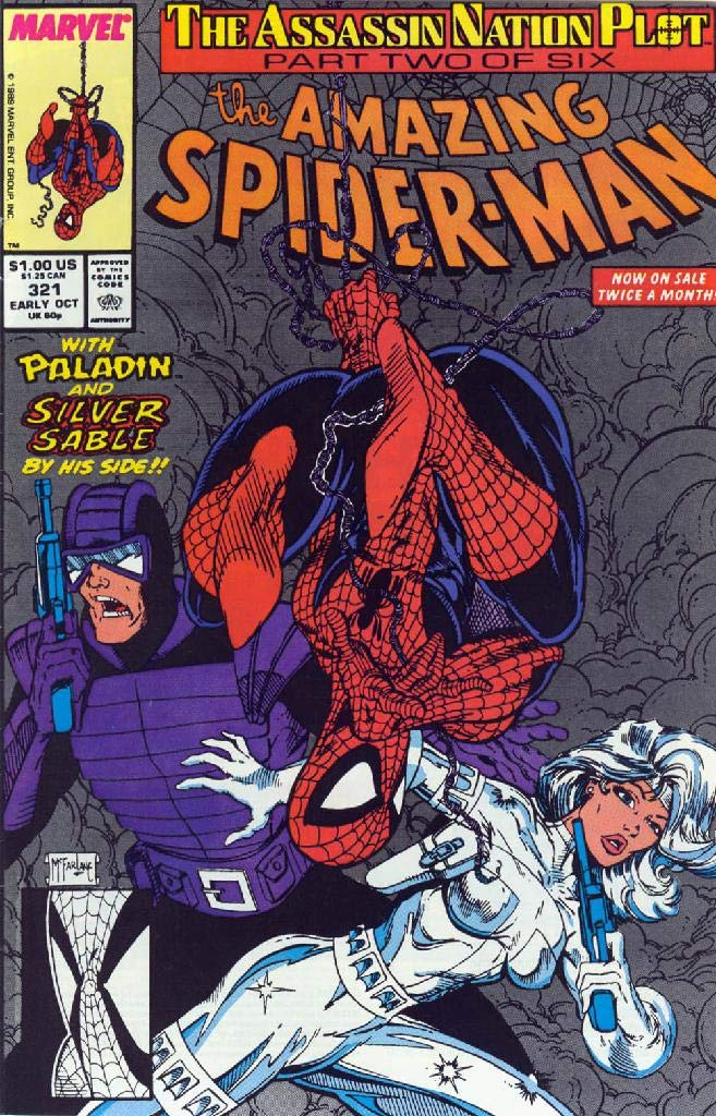 Amazing Spider-Ma: Vol 1 Issues 321 - 350 Superheroes Avenger Team Spider-Man Comics Books For Kids, Boys , Girls , Fans , Adults