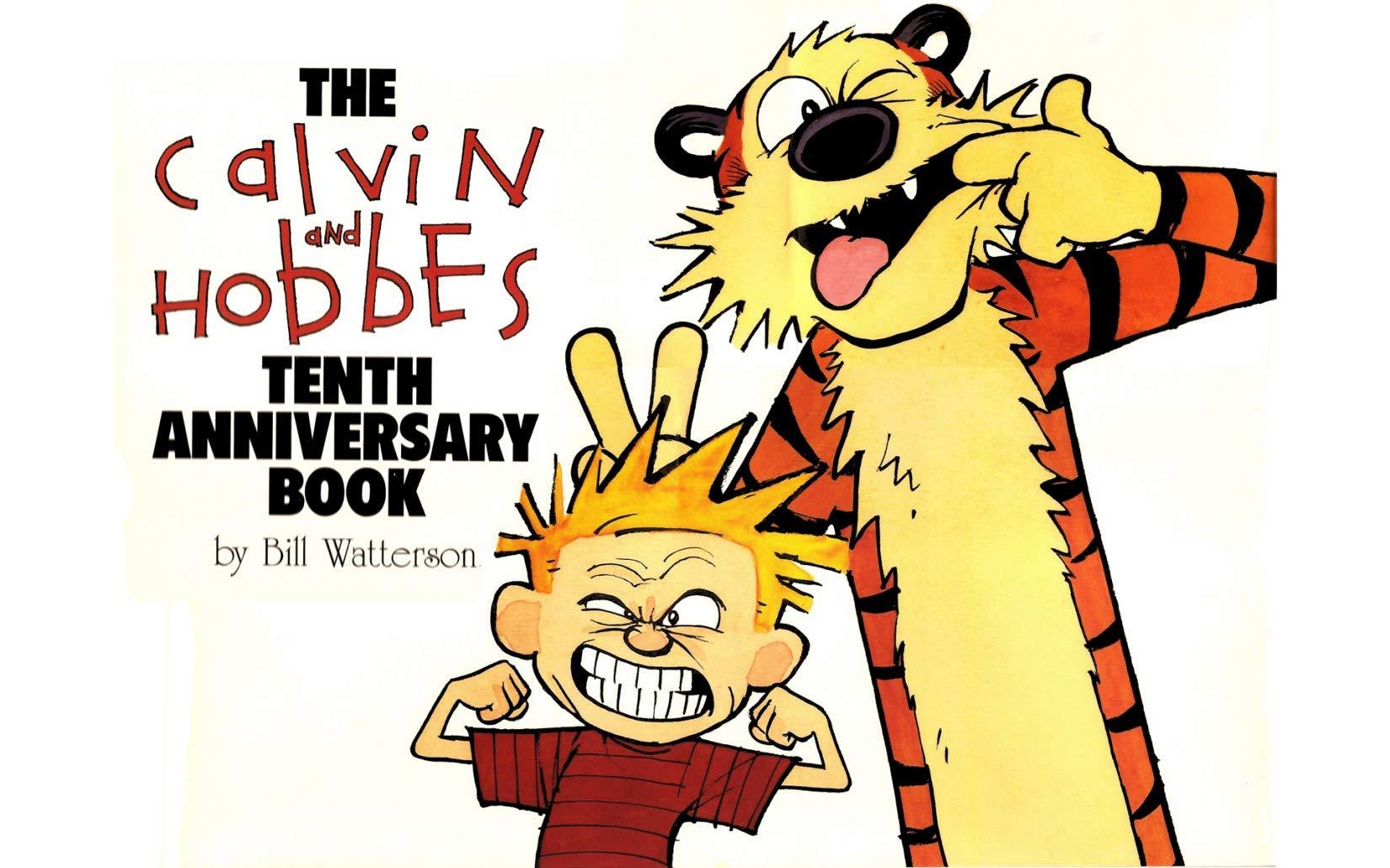Calvin and Hobbes: Vol 13 Great Advanture Cartoon Comics Books For Kids, Boys , Girls , Fans , Adults