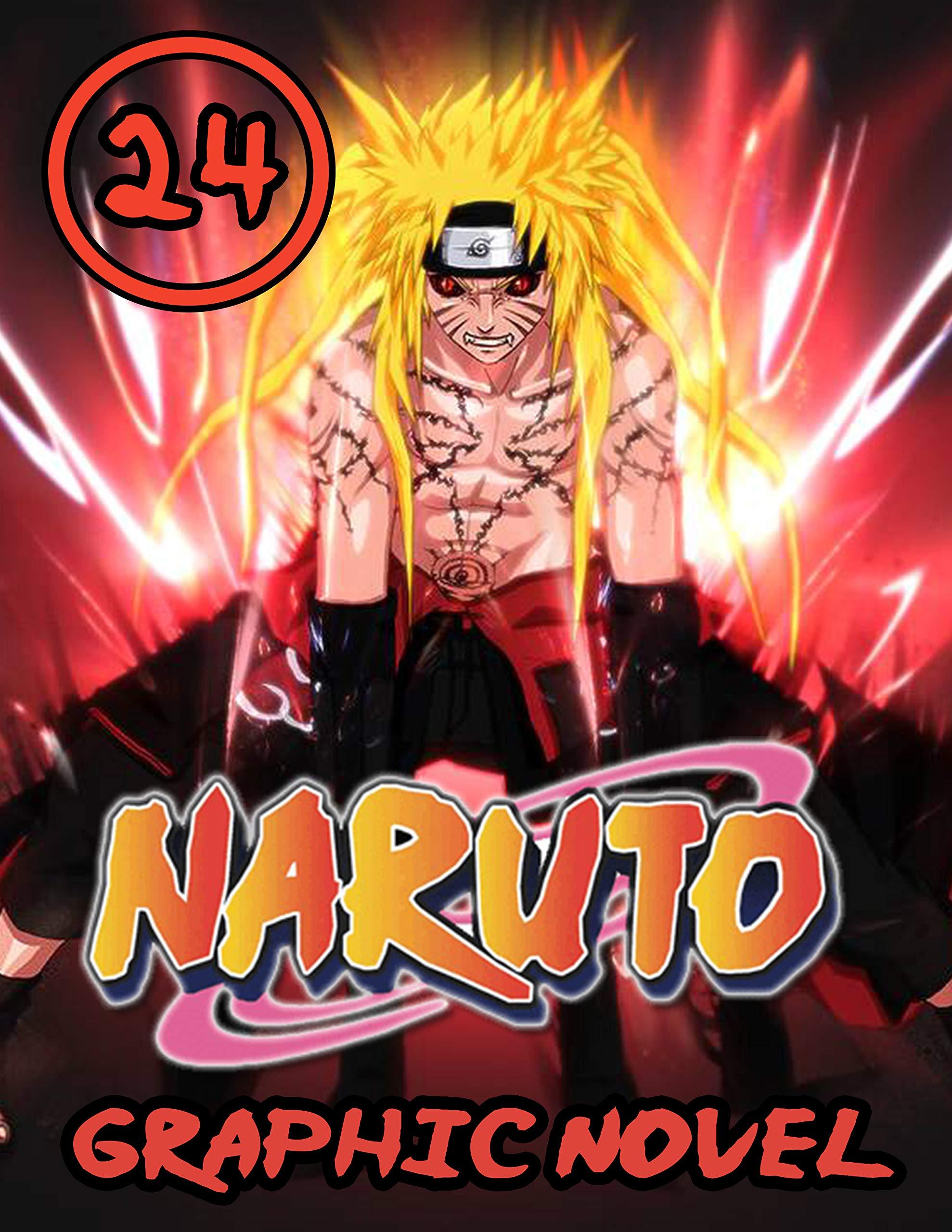 Naruto Graphic Novel: Vol 24 - Full Color Great Shounen Manga For Young & Teens , Adults