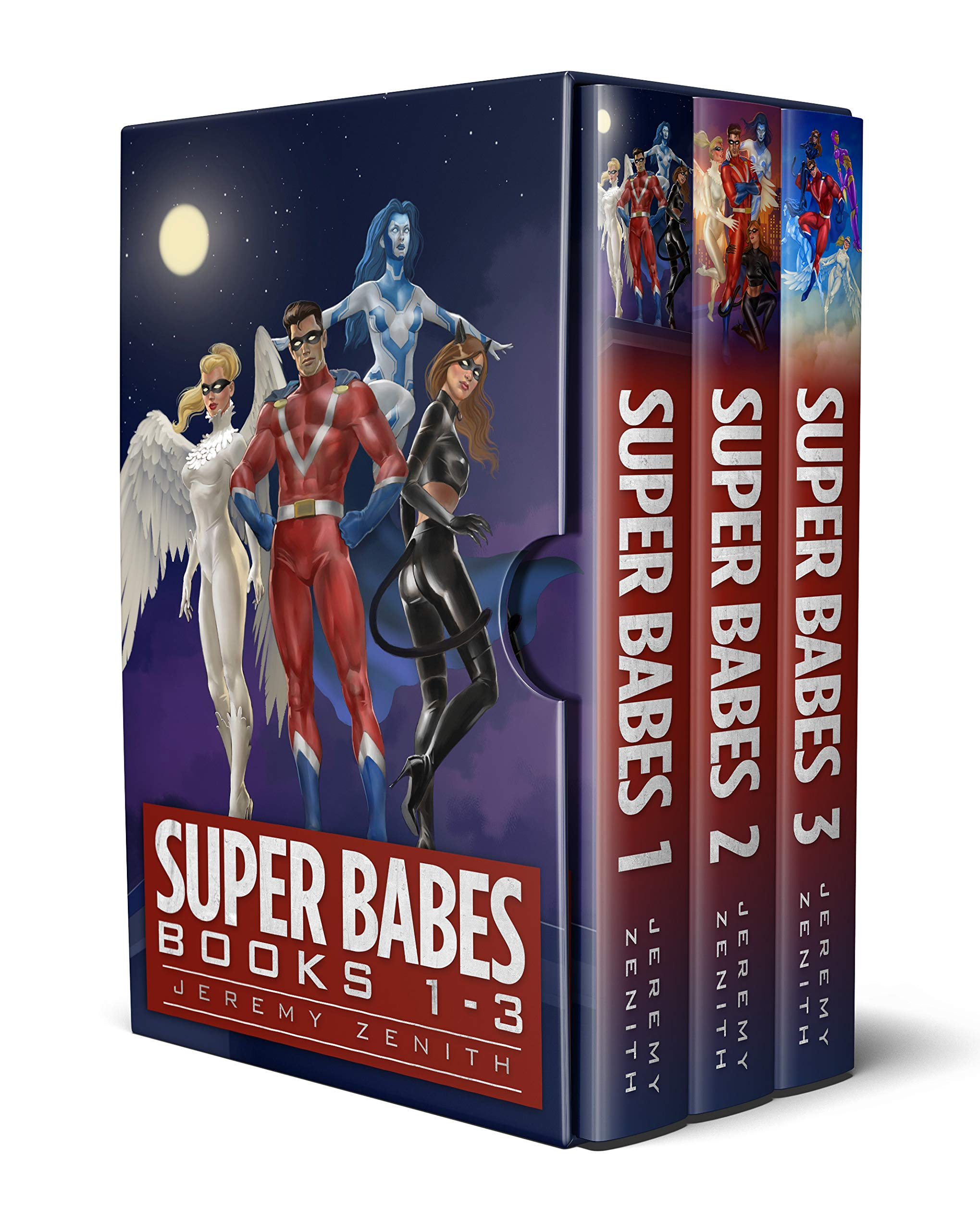 Super Babes Box Set: Volume 1: Superhero LitRPG Books 1-3