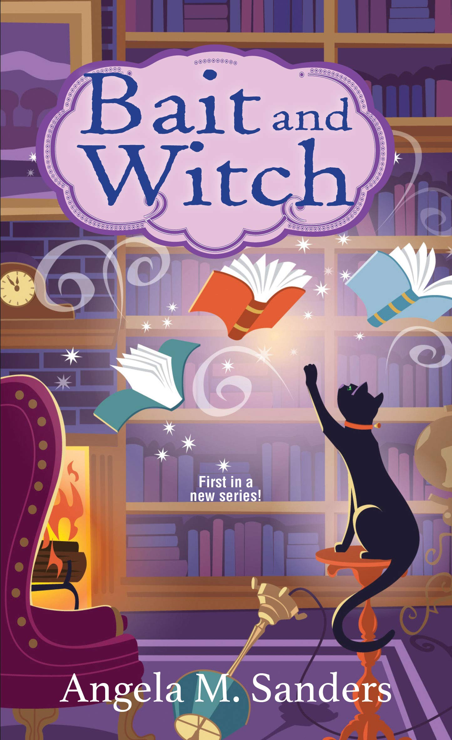 Bait and Witch (Witch Way Librarian Cozy Mysteries Book 1)