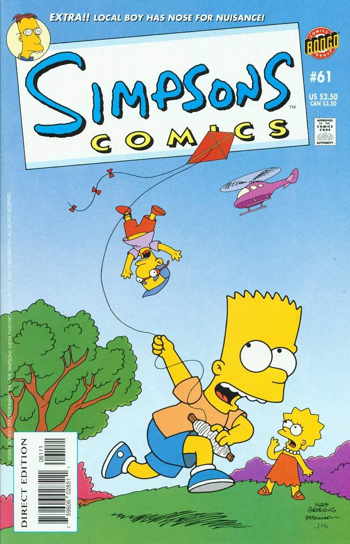 Simpsons Comics: Vol 11 Funny Cartoon Family Comics Books For Kids, Boys , Girls , Fans , Adults