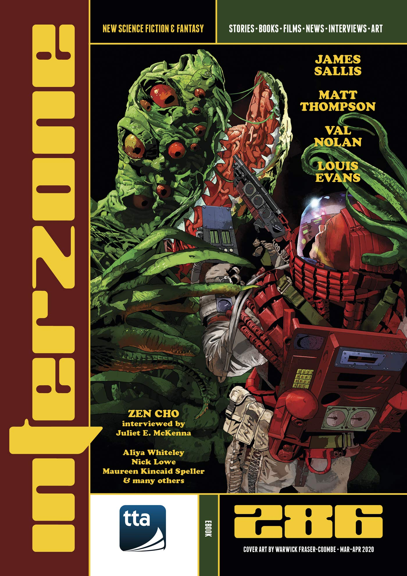 Interzone #286 (March-April 2020): New Science Fiction and Fantasy (Interzone Science Fiction and Fantasy Magazine)