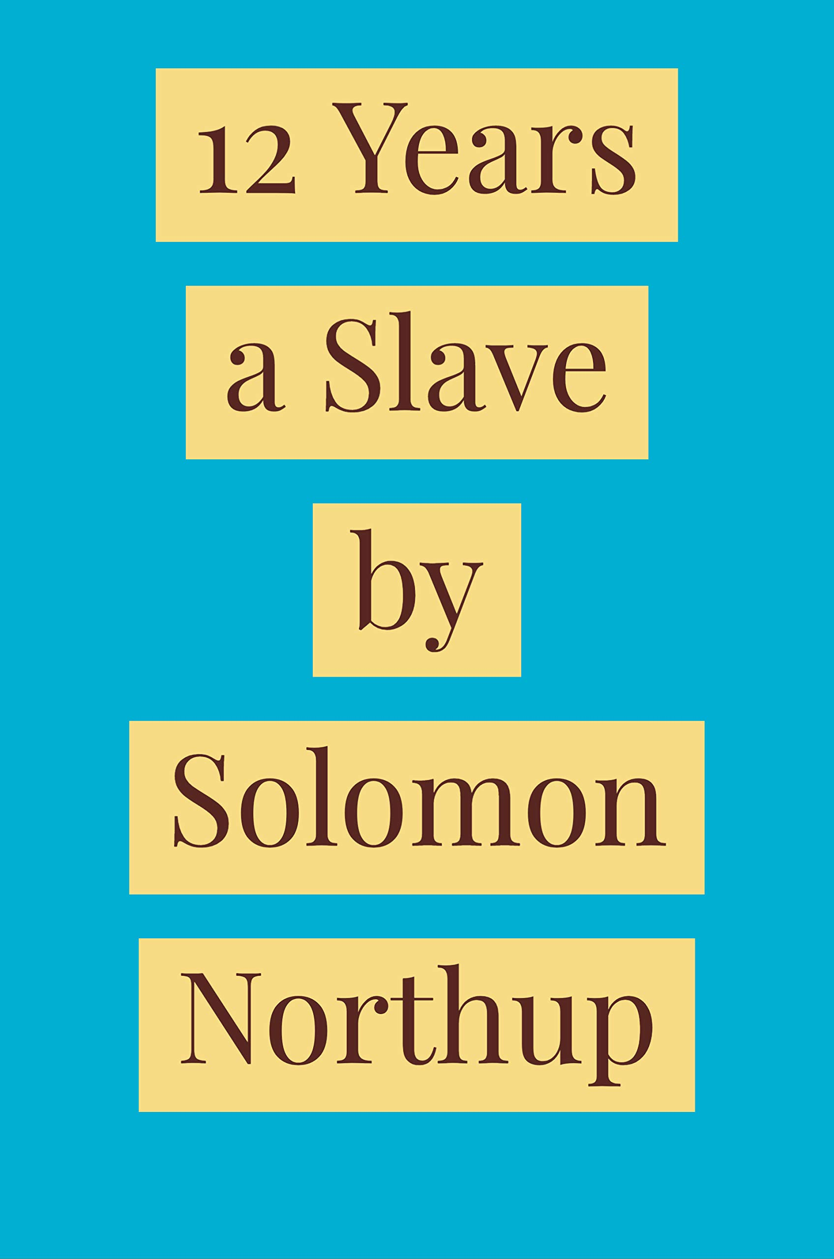 12 Years a Slave [Annotated]