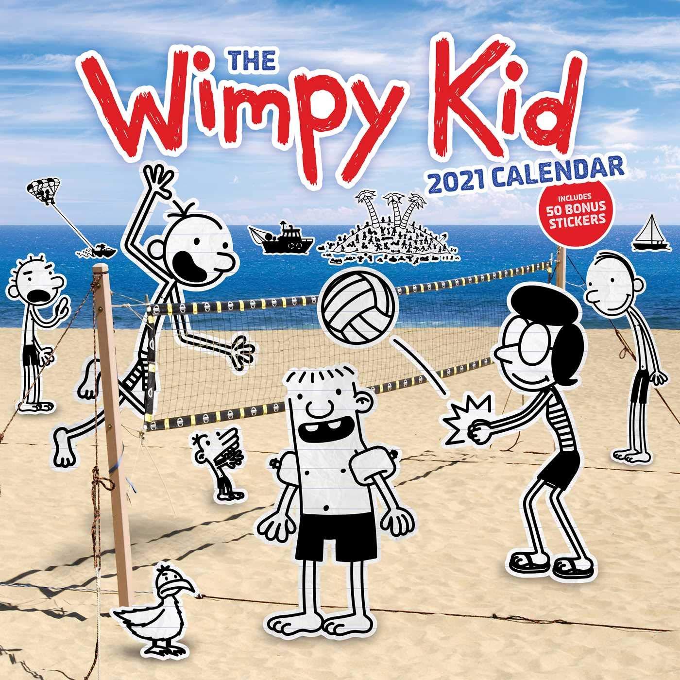 Wimpy Kid 2021 Wall Calendar