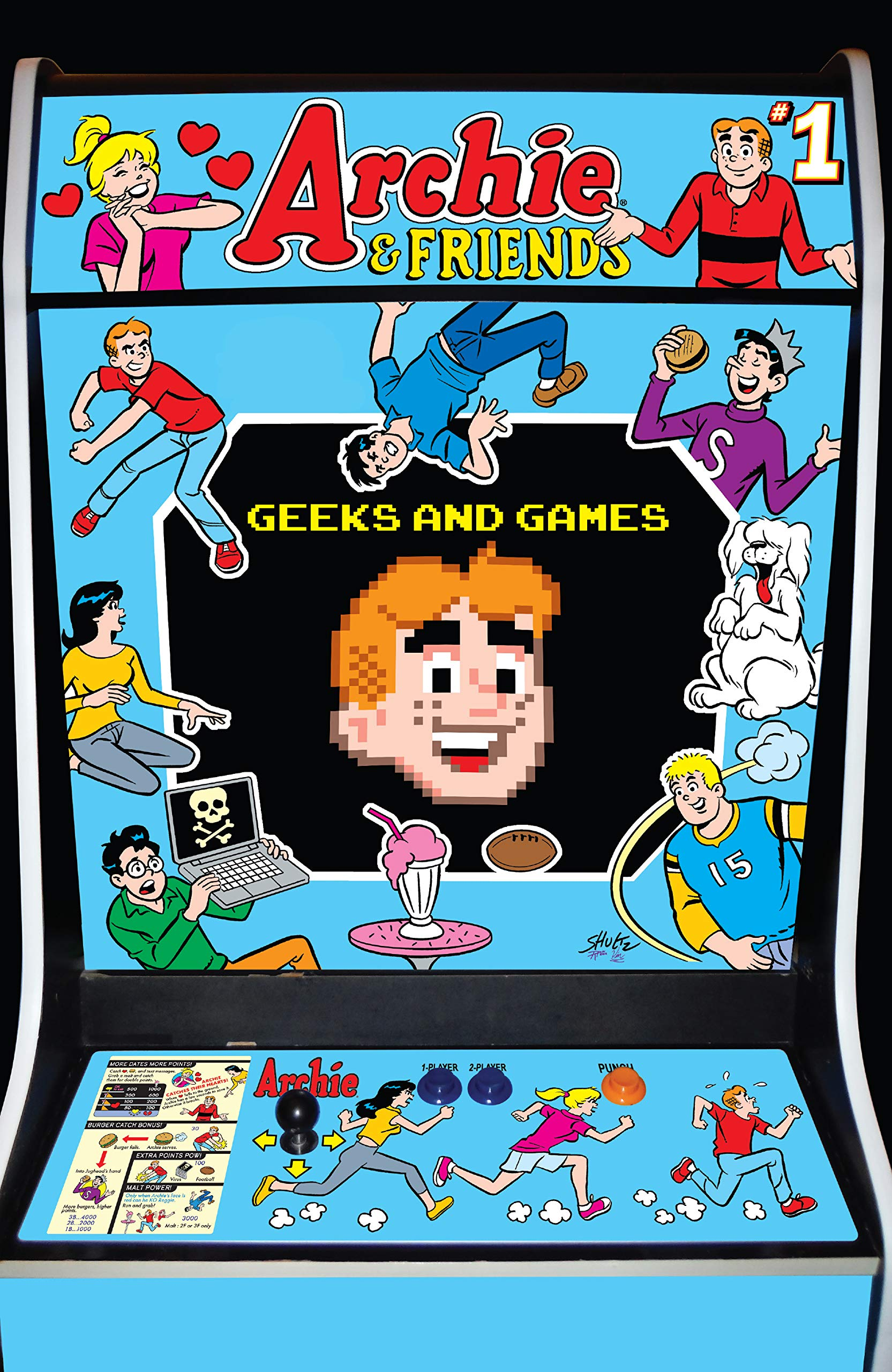 Archie & Friends: Geeks & Games #1 (Archie & Friends (2019-))
