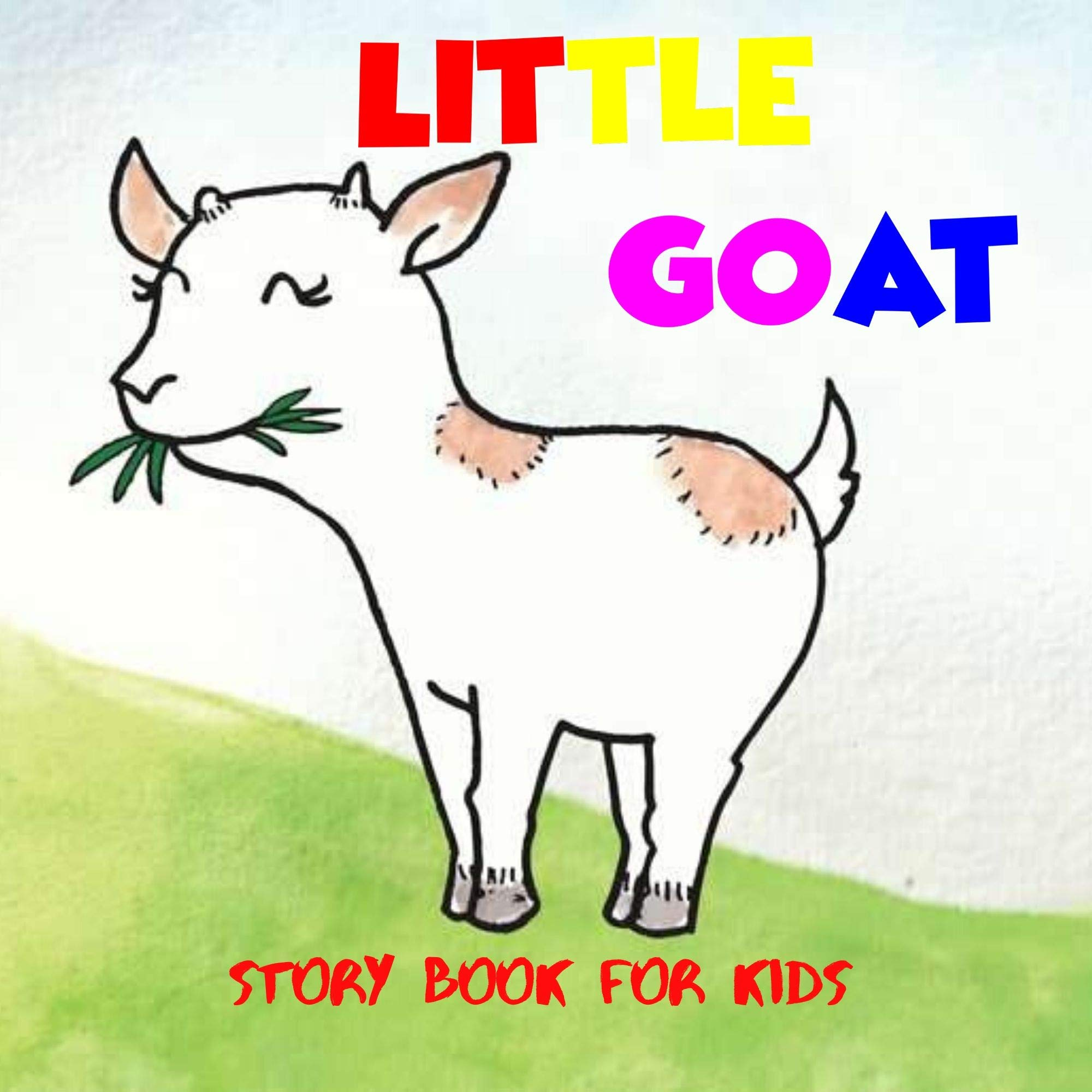 Little Goat: Before Bed Children's Book- Cute story - ages 3-8- Easy reading .
