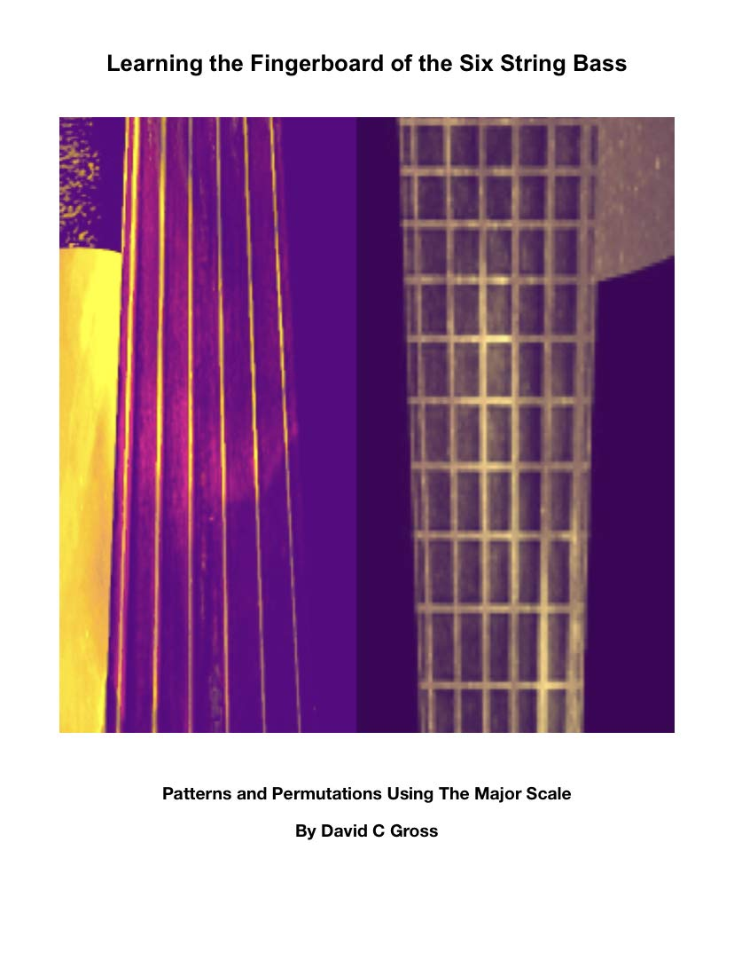 Learning the Fingerboard of the Six String Bass: Patterns and Permutations Using The Major Scale