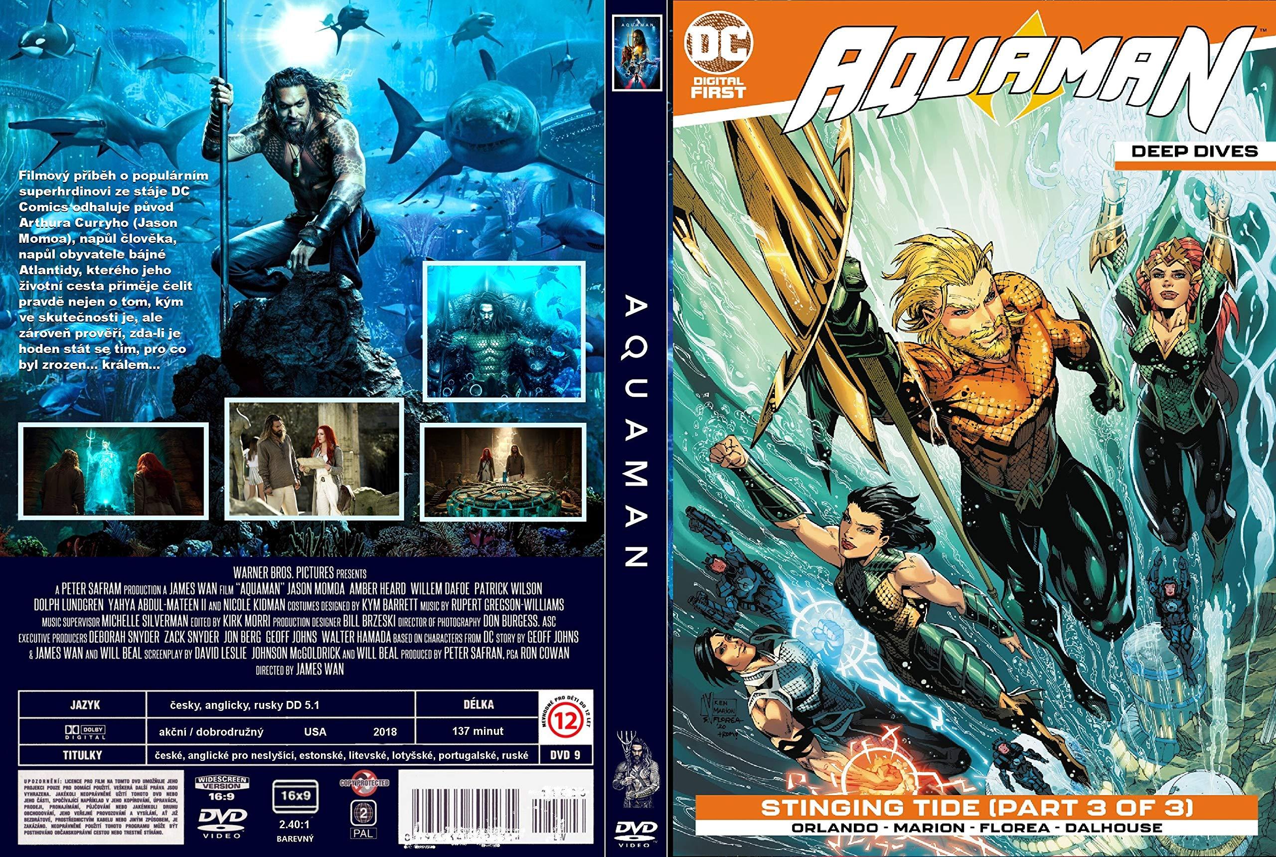 Aquaman: Deep Dives Digital Comics (2020) quarantine anime manga story comic novel kids 2-12 ages learning & enjoying pictures
