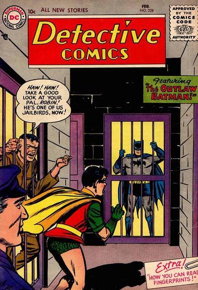 "Detective Comics #228 ""The Outlaw Batman"""