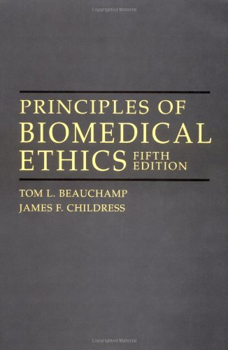 Principles of Biomedical Ethics, 5th edition