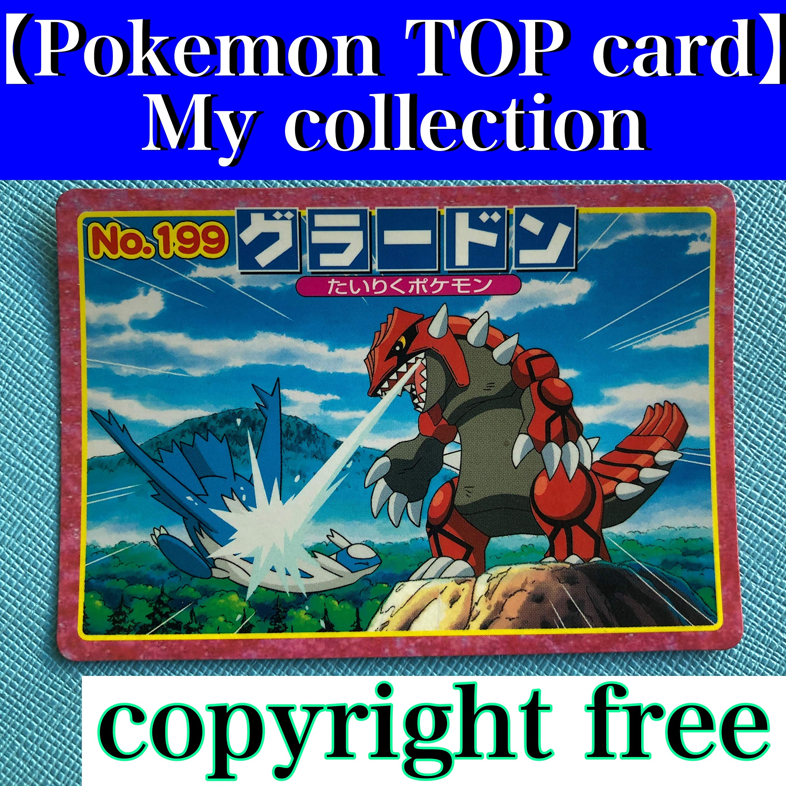【Pokemon TOP card】My collection Japanese collector Photo Book Vintage copyright free