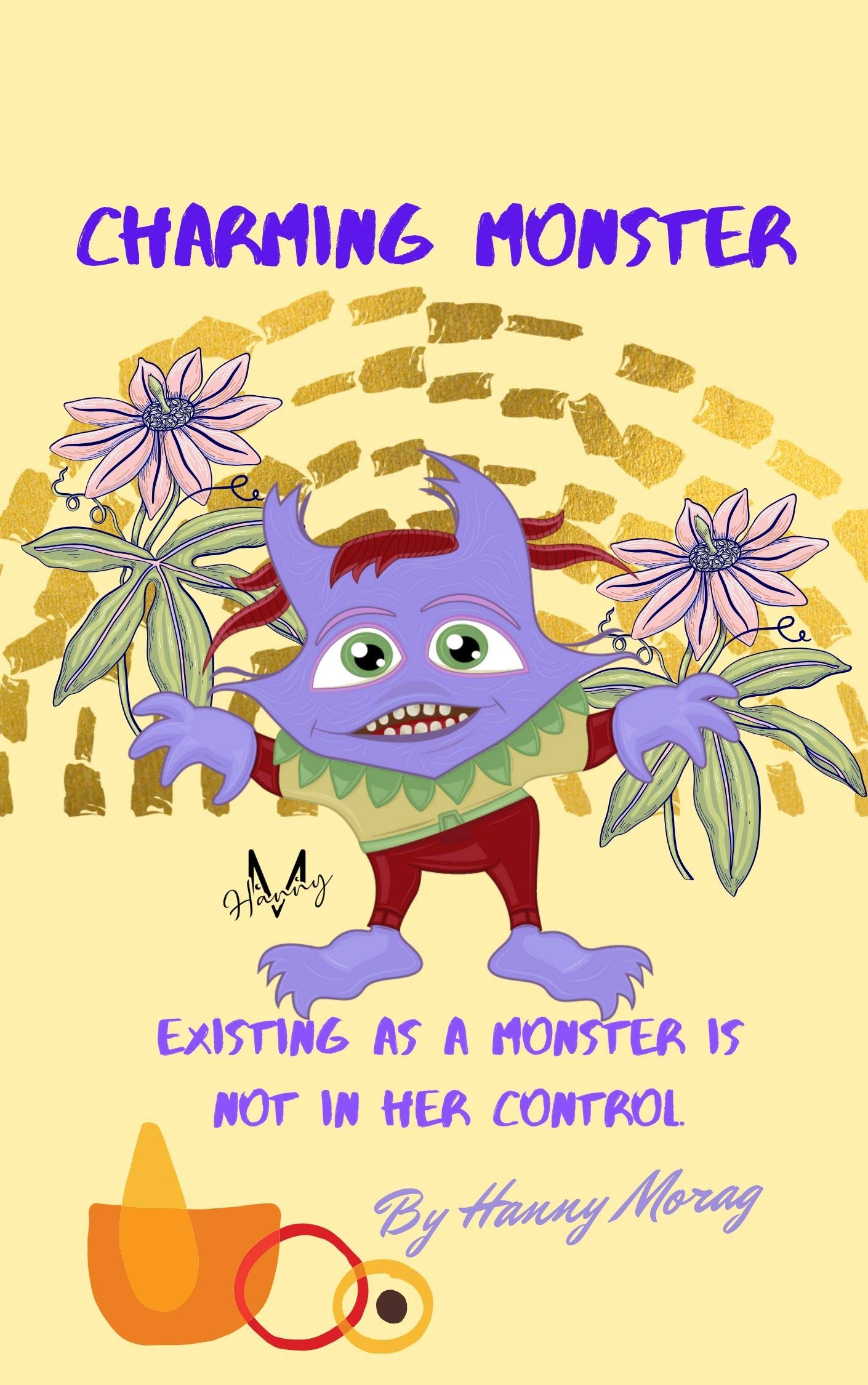 Charming Monster: Cute monster book, Educational children personal image books, bedtime stories for kids ages 3-8, illustrated fairy tales eBook for children,
