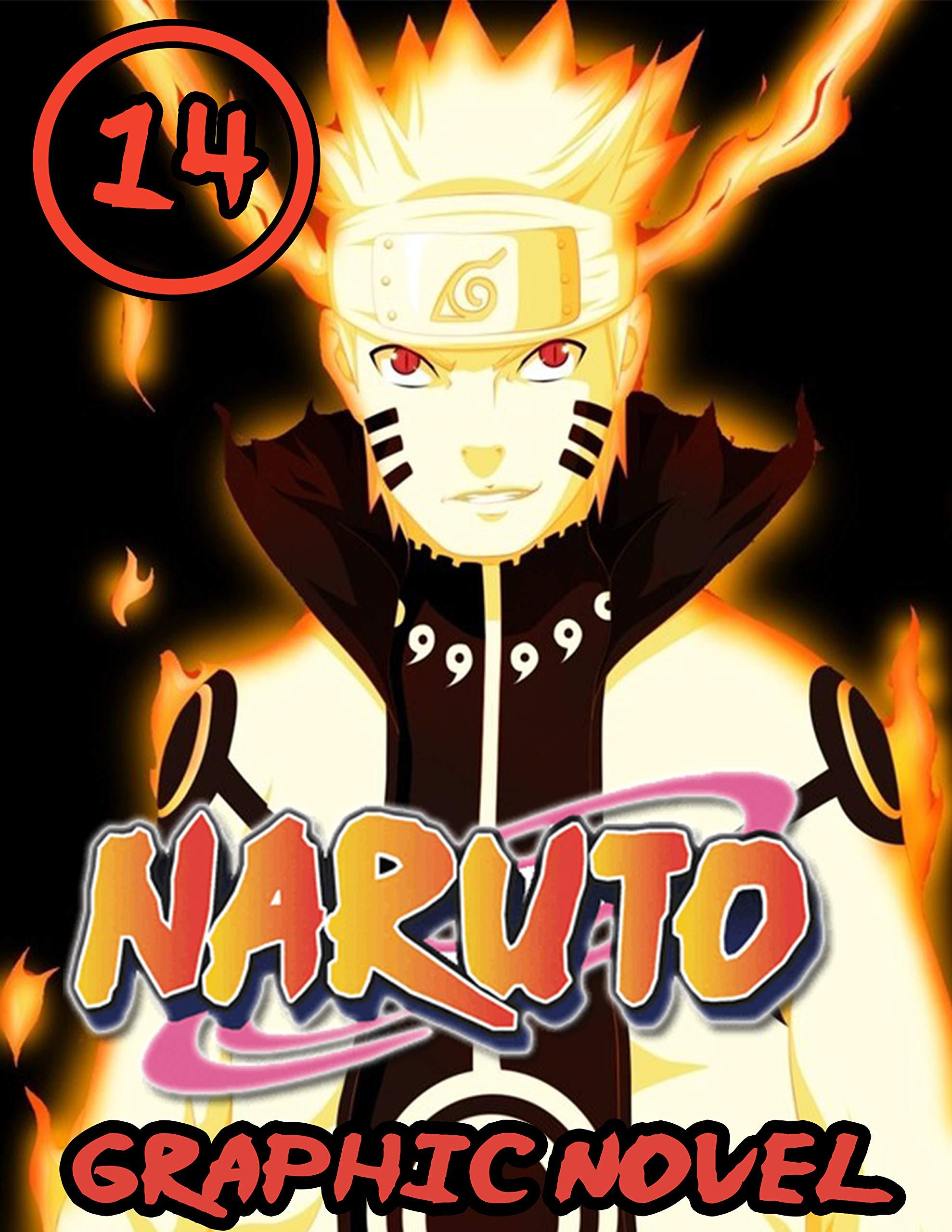 Narut Graphic Novel: Book 14 Includes Vol 40 - 41 - 42 - Great Shonen Manga Naruto Action Graphic Novel For Adults, Teenagers, Kids, Manga Lover