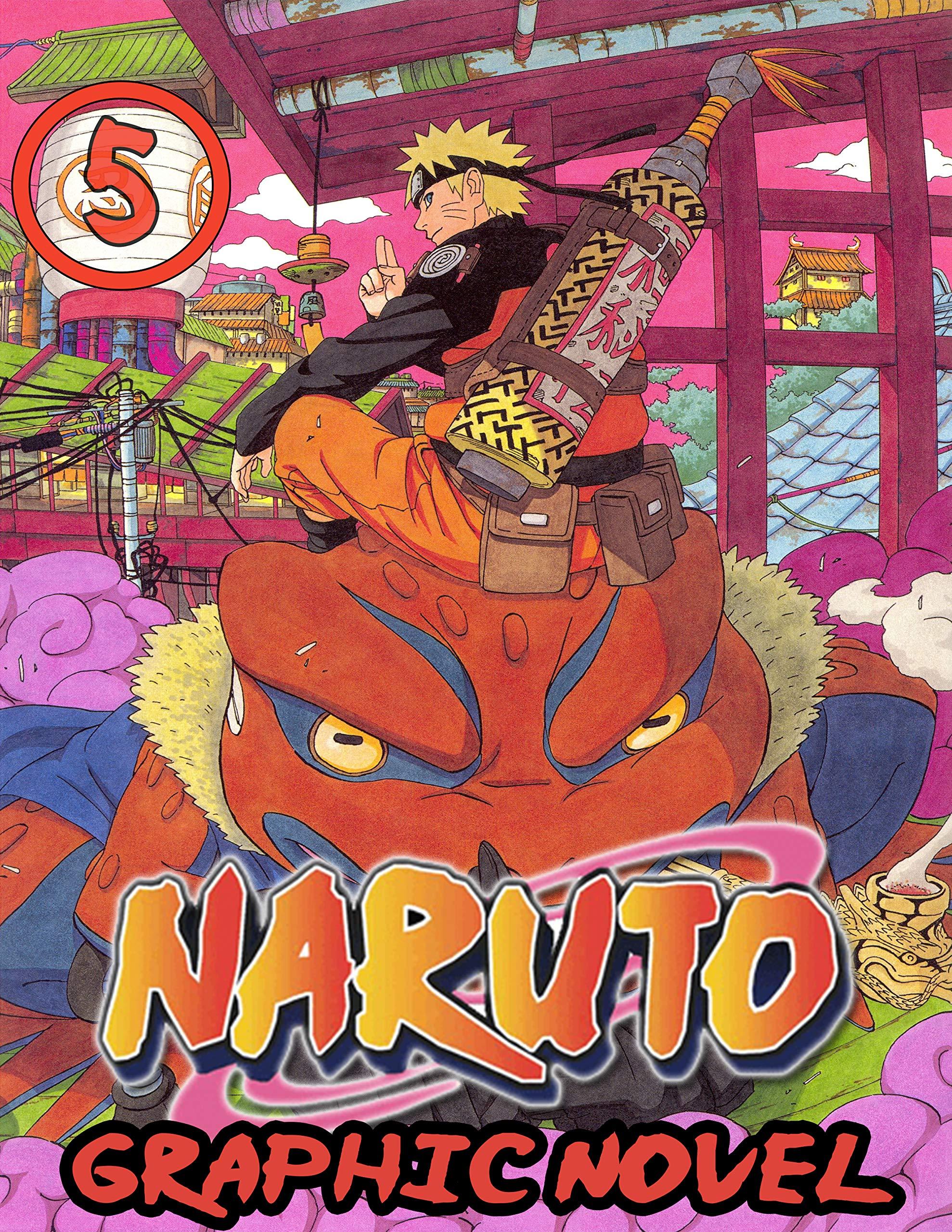 Narut Graphic Novel: Book 5 Includes Vol 13 - 14 - 15 - Great Shonen Manga Naruto Action Graphic Novel For Adults, Teenagers, Kids, Manga Lover