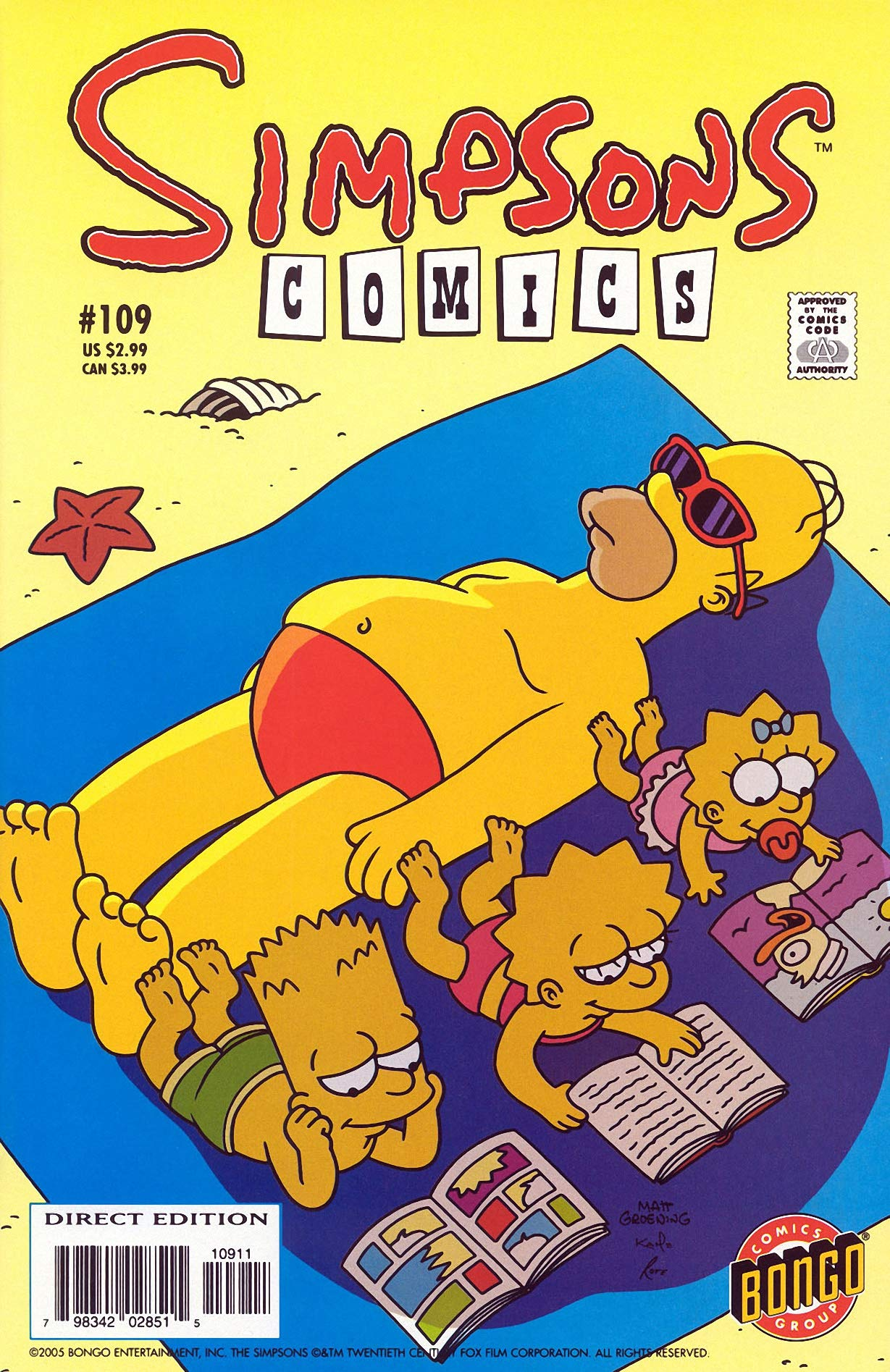 Simpsons Comics: Vol 19 Funny Cartoon Family Comics Books For Kids, Boys , Girls , Fans , Adults