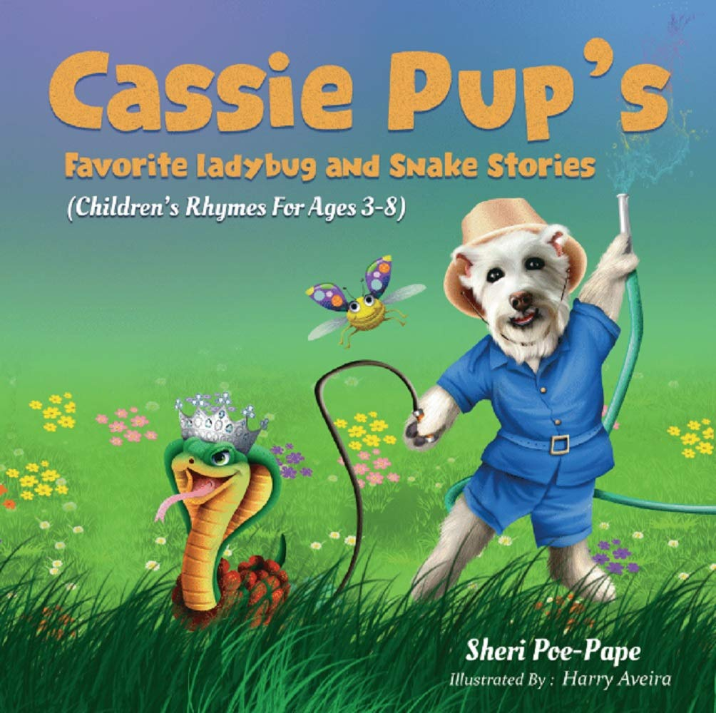 Cassie Pup's Favorite Ladybug and Snake Stories: Cassie's Marvelous Music Lessons Series