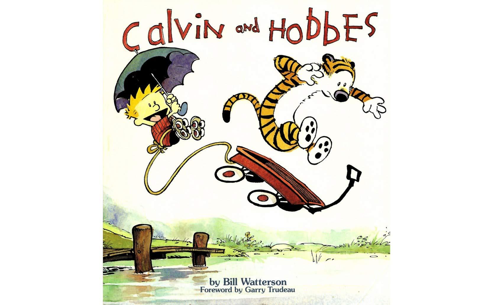 Calvin and Hobbes: Vol 1 Great Advanture Cartoon Comics Books For Kids, Boys , Girls , Fans , Adults