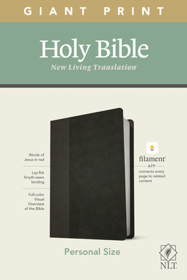NLT Personal Size Giant Print Bible, Filament Enabled Edition