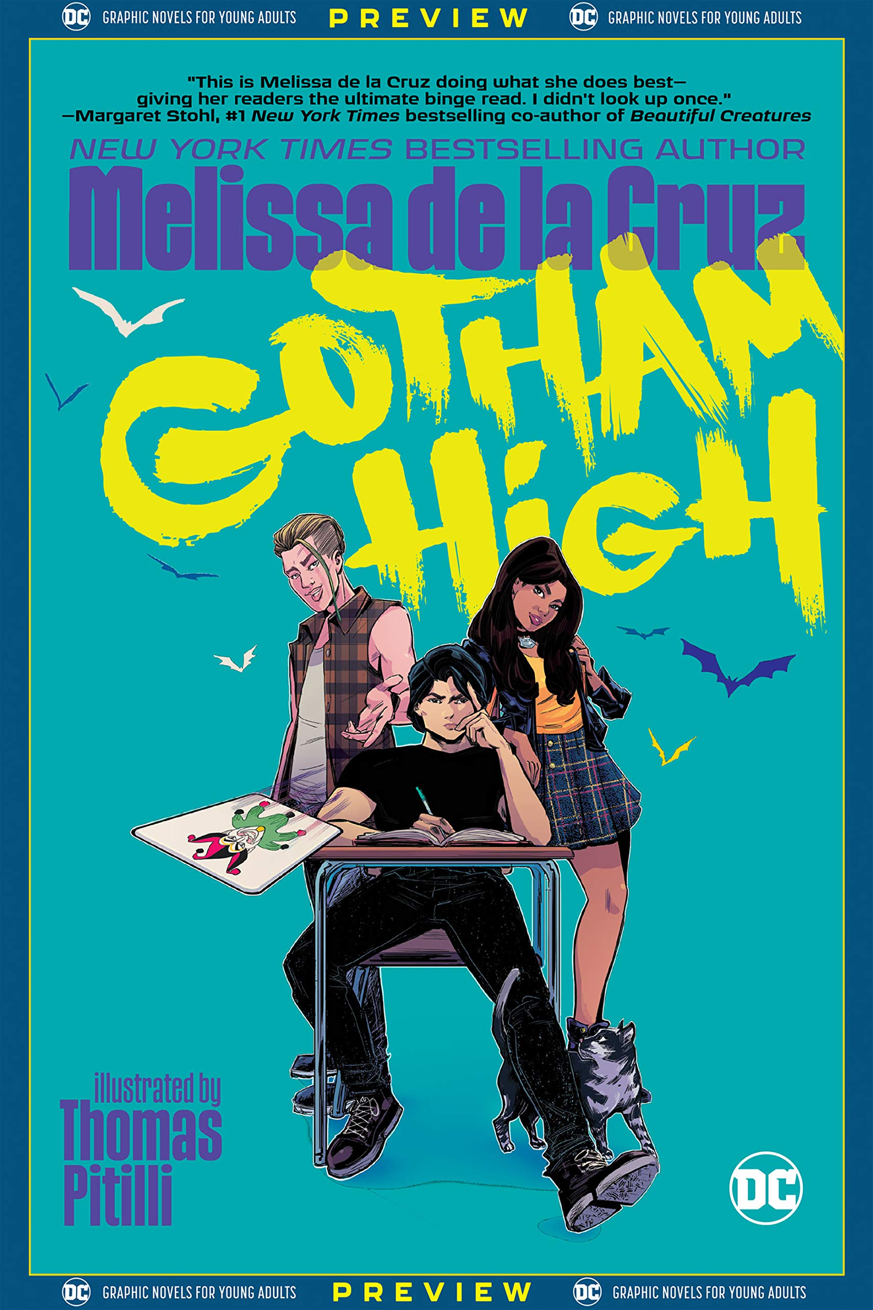 DC Graphic Novels for Young Adults Sneak Previews: Gotham High (2020-) #1