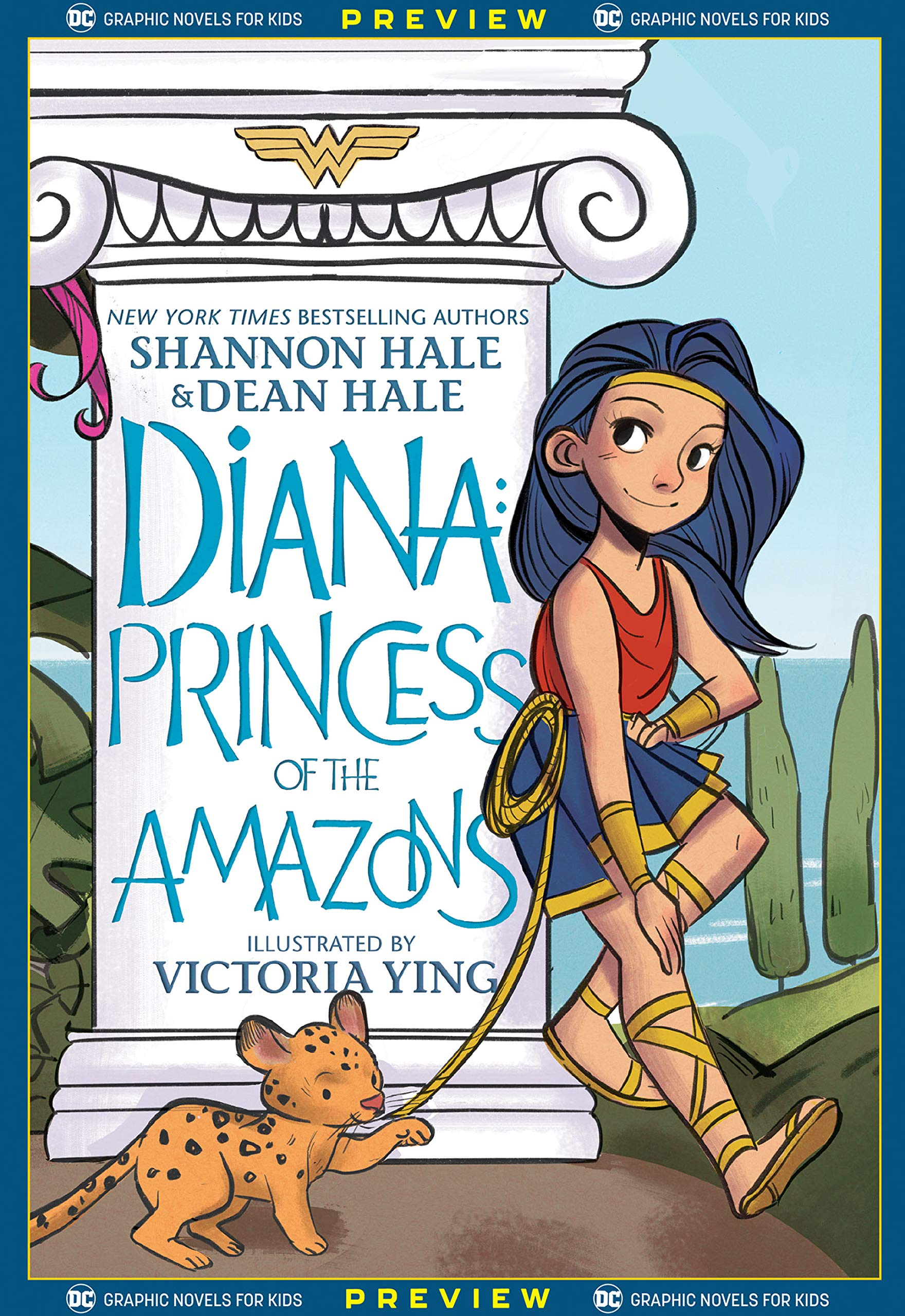 DC Graphic Novels for Kids Sneak Peeks: Diana: Princess of the Amazons (2020-) #1