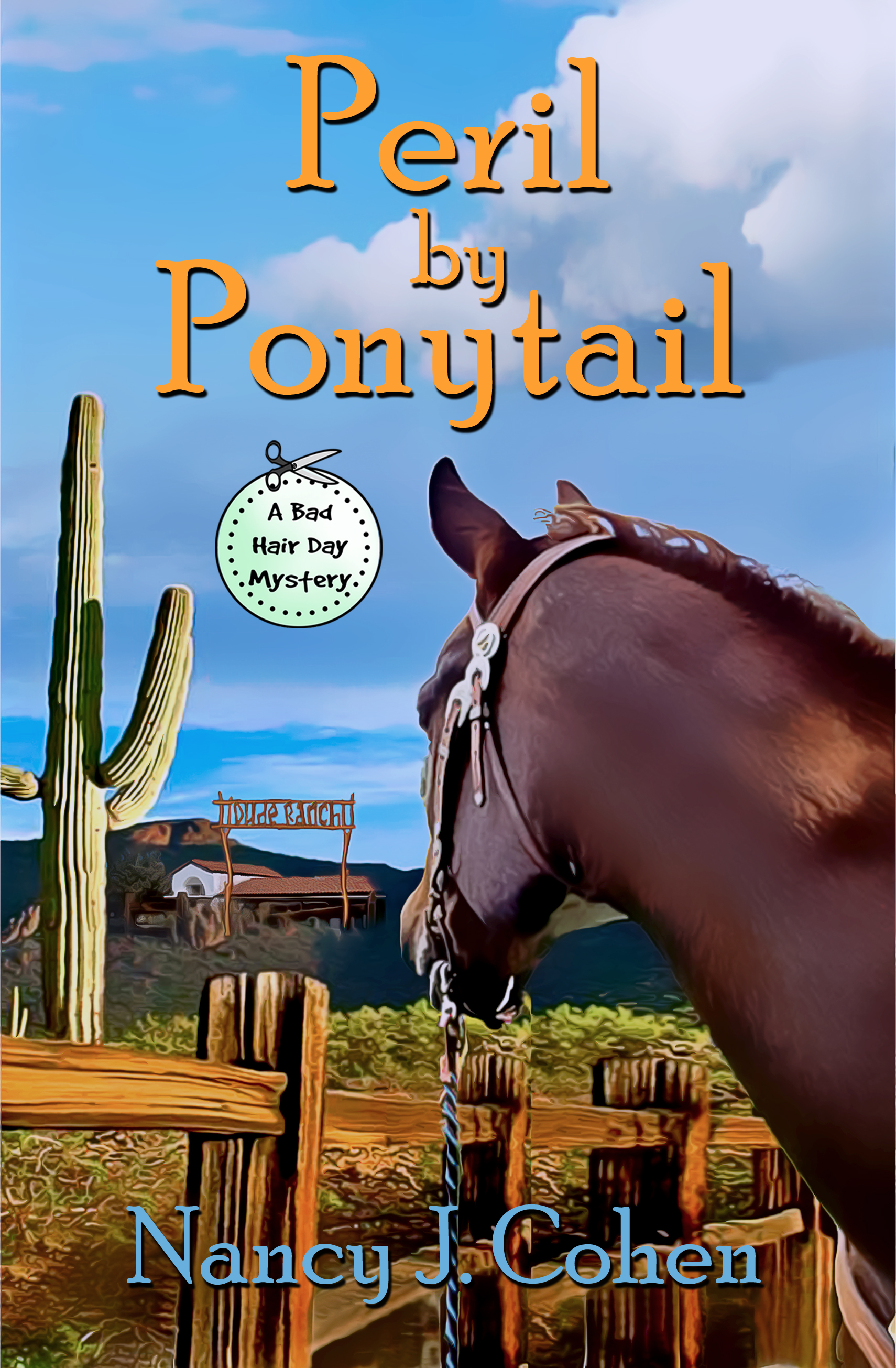 Peril By Ponytail (The Bad Hair Day Mysteries, #12)