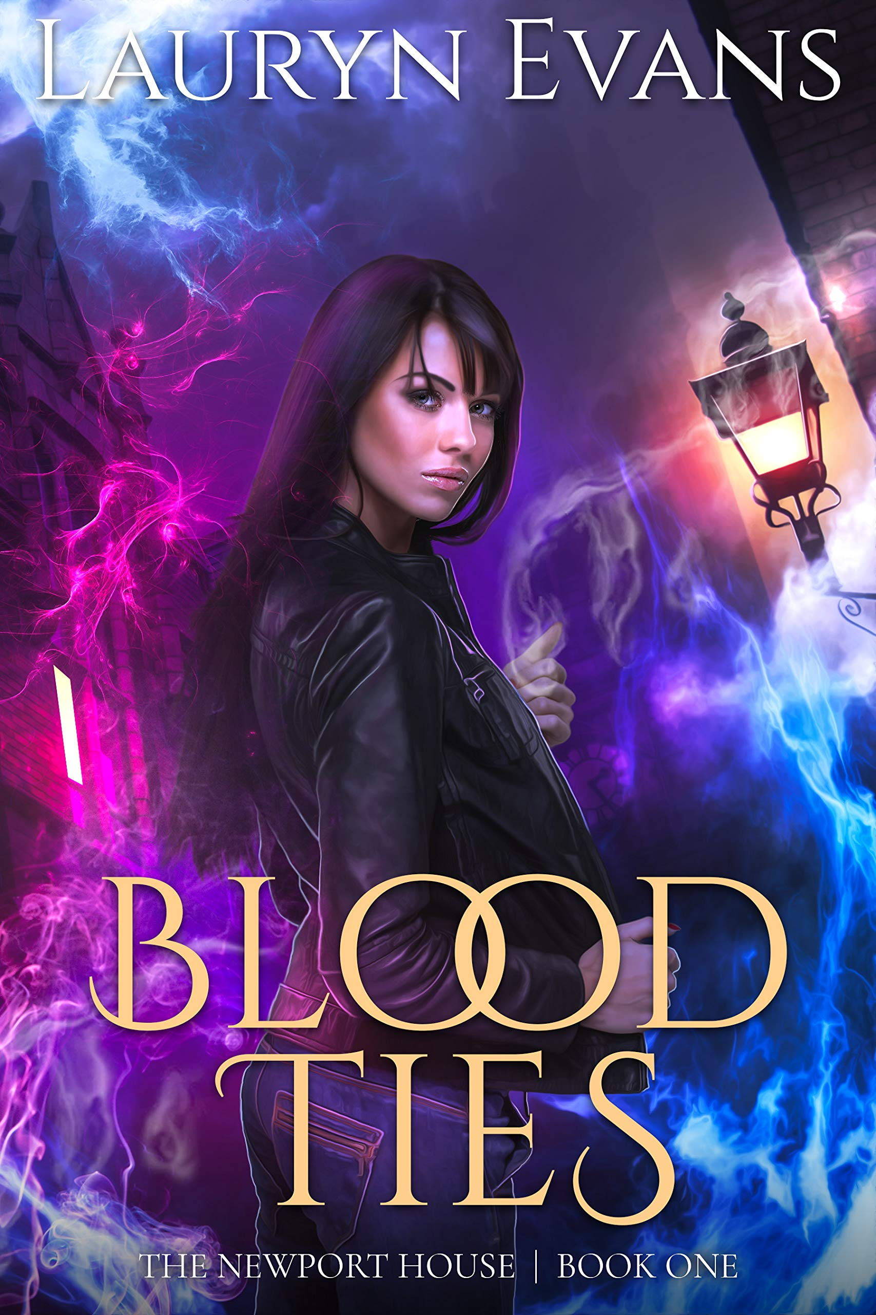 Blood Ties: A New Adult Urban Fantasy (The Newport House Book 1)