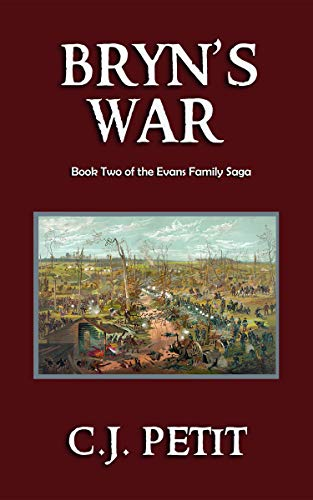 Bryn's War: Book Two of the Evans Family Saga
