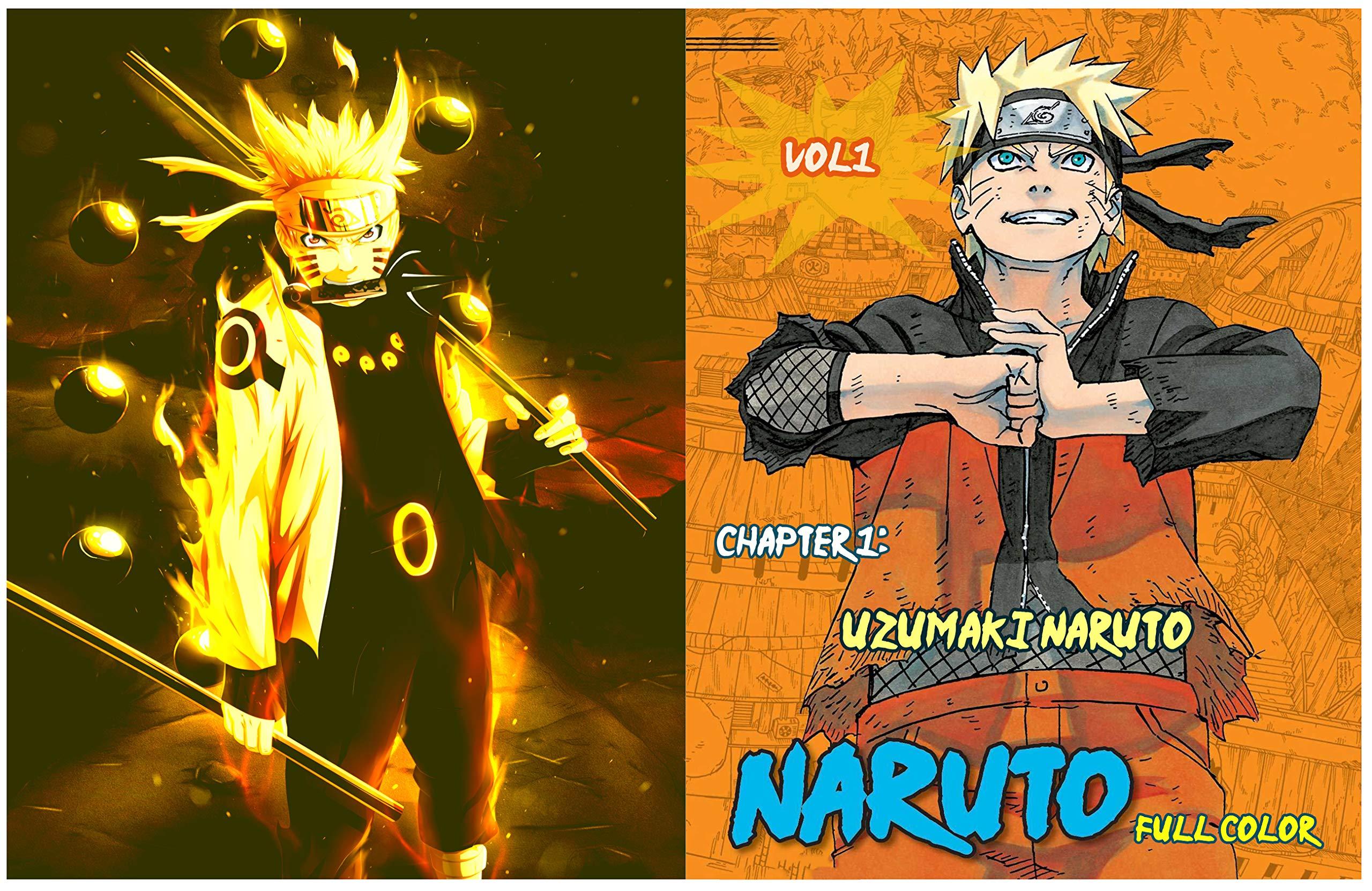 Naruto (full color): Vol1, Chapter 1: Uzumaki Naruto