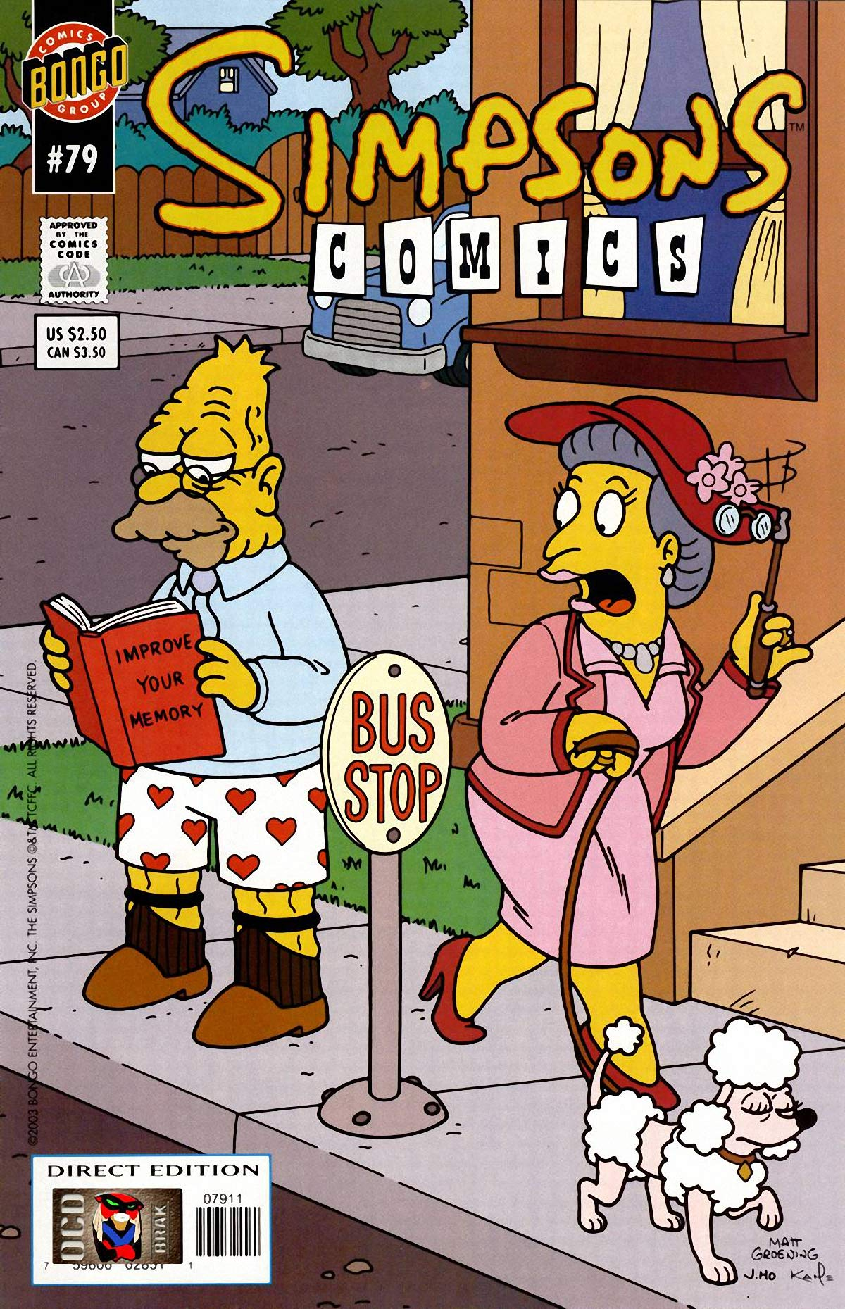 Simpsons Comics: Vol 14 Funny Cartoon Family Comics Books For Kids, Boys , Girls , Fans , Adults