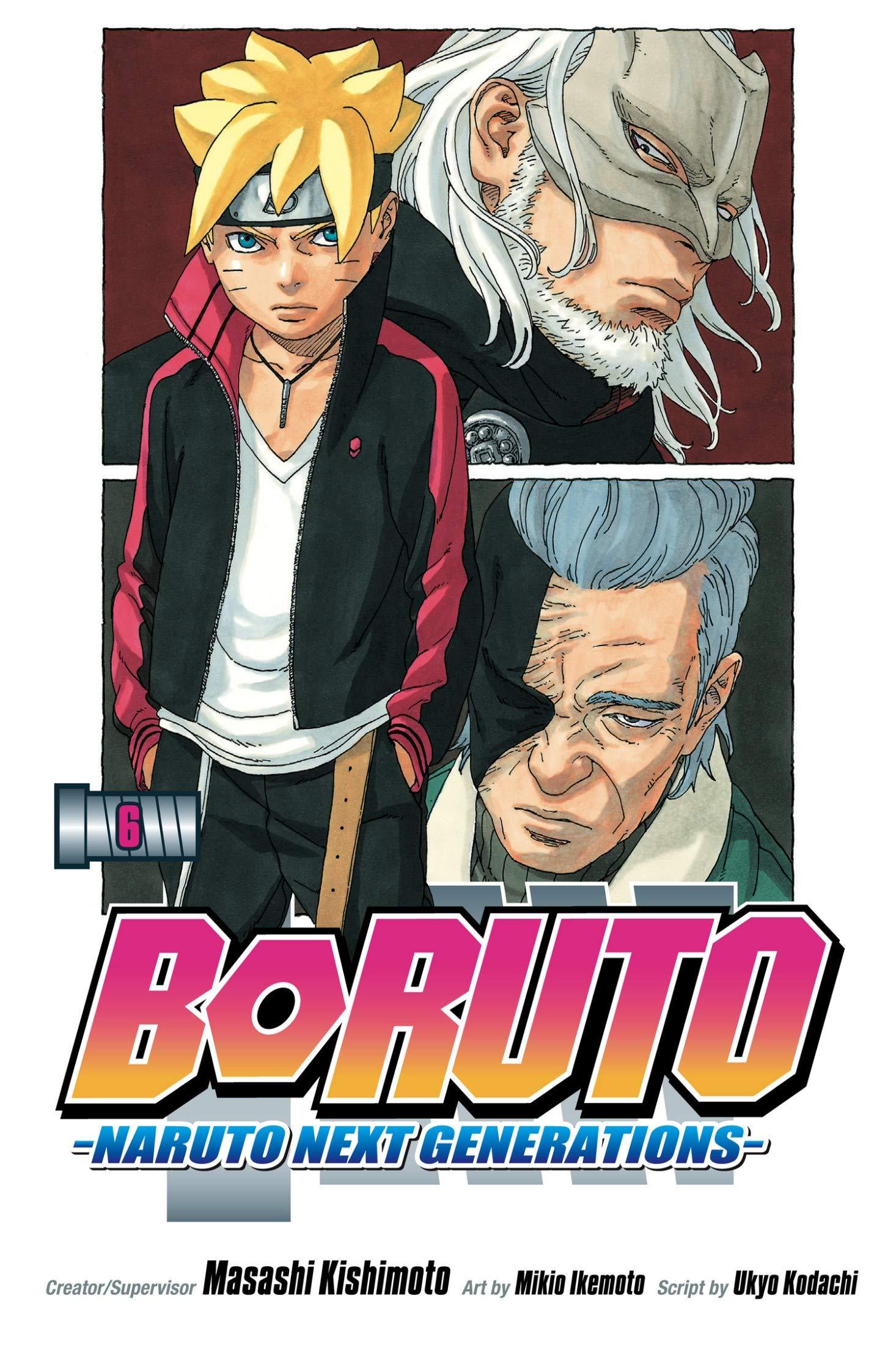 Next Generations: Vol 6 Boruto Naruto Great Shounen Manga For Young & Teens , Adults