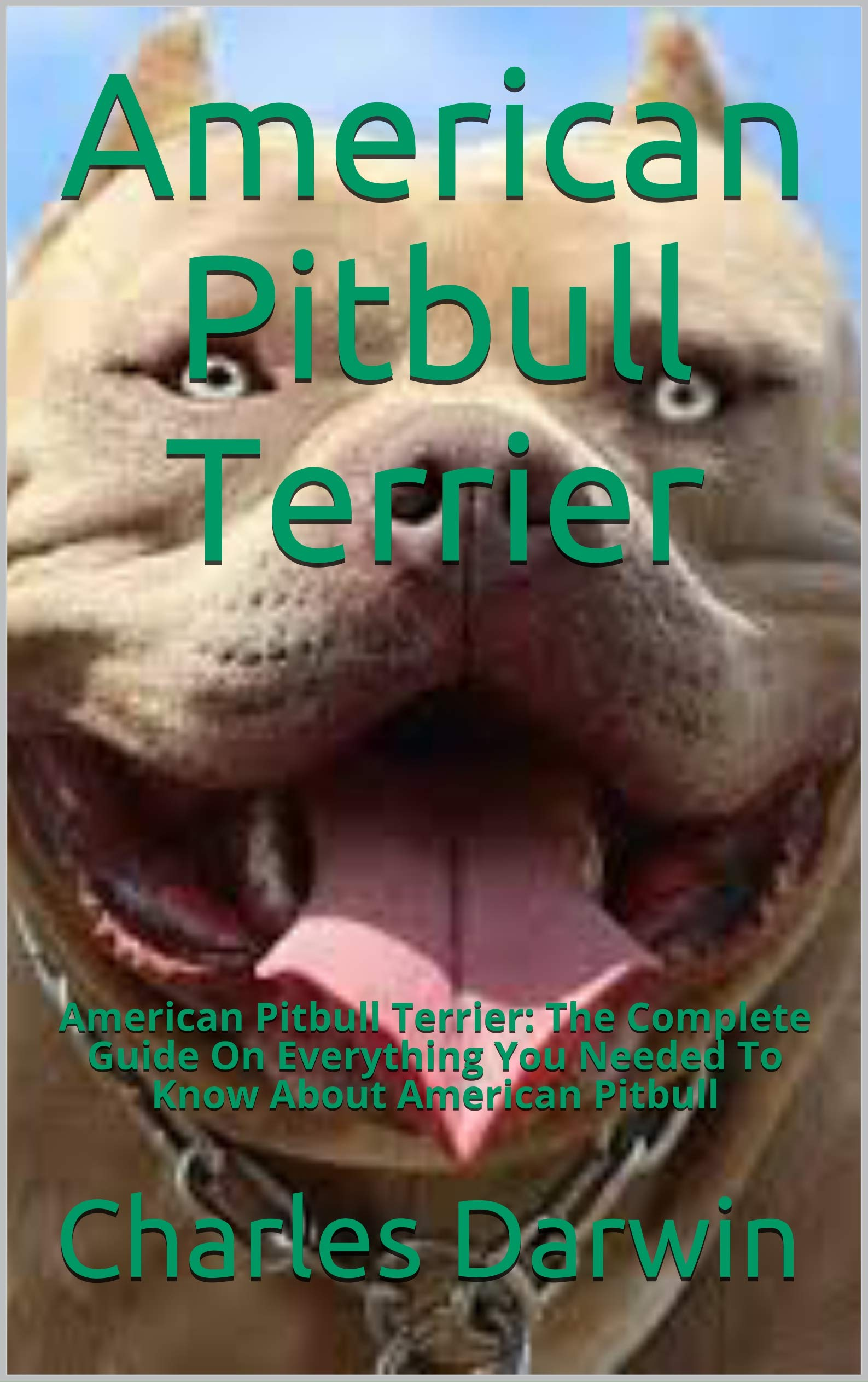 American Pitbull Terrier: American Pitbull Terrier: The Complete Guide On Everything You Needed To Know About American Pitbull