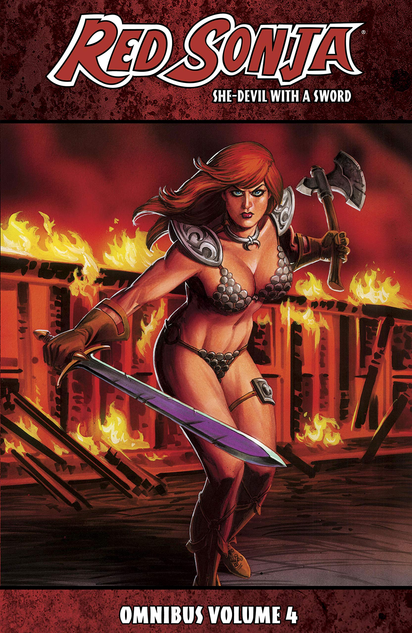 Red Sonja: She-Devil With A Sword Omnibus Vol. 4 (Red Sonja: She-Devil With a Sword (2010-2013))
