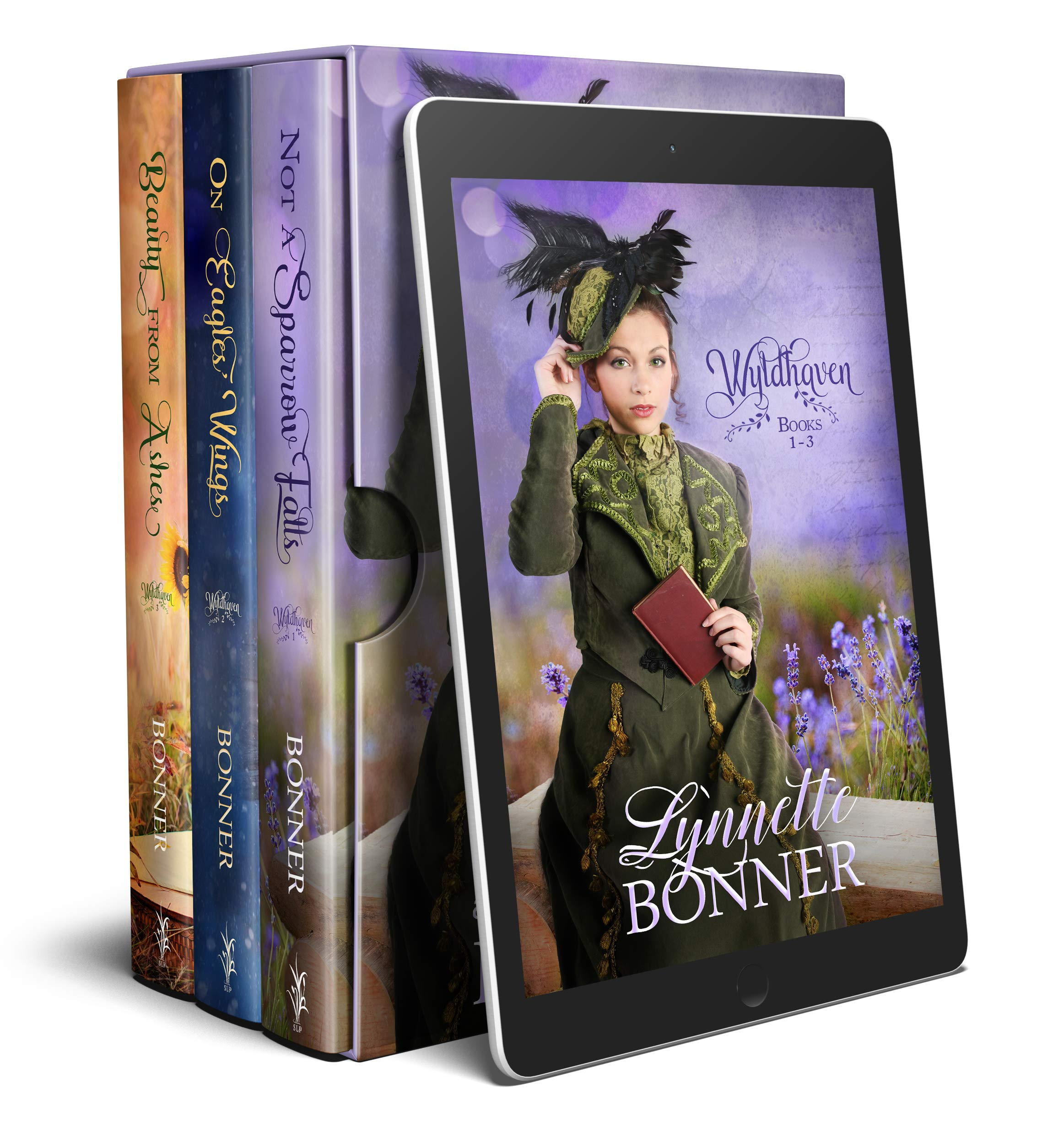 The Wyldhaven Series, Books 1 - 3: A Christian Historical Western Romance Boxed Set Collection