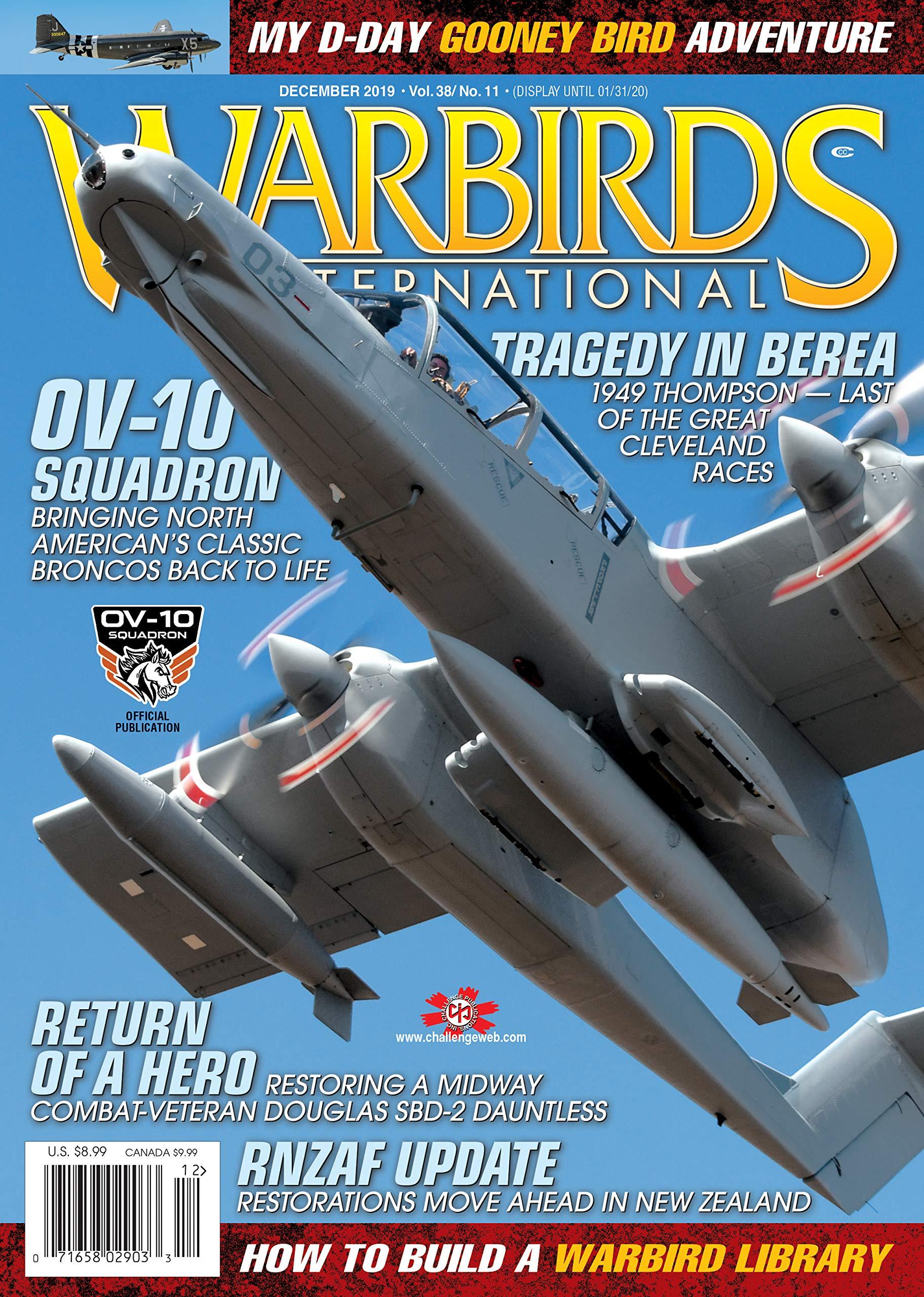 Warbirds International (Volume 38 Book 11)