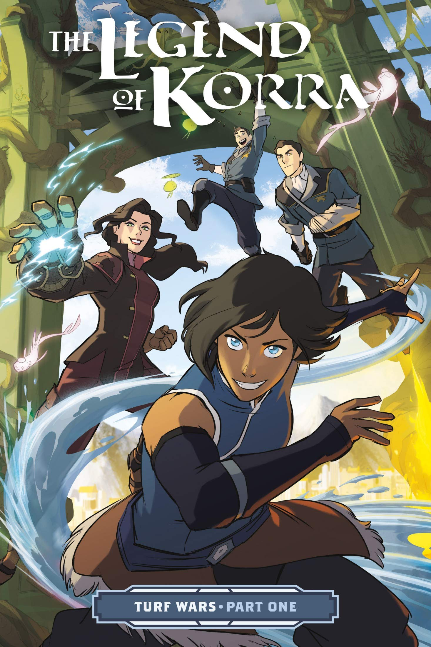 TheLegend: Korra - Vol 5 Great Adventure Comic Avatar The Legend Graphic Novels Of Korra For Young & Teens , Adults