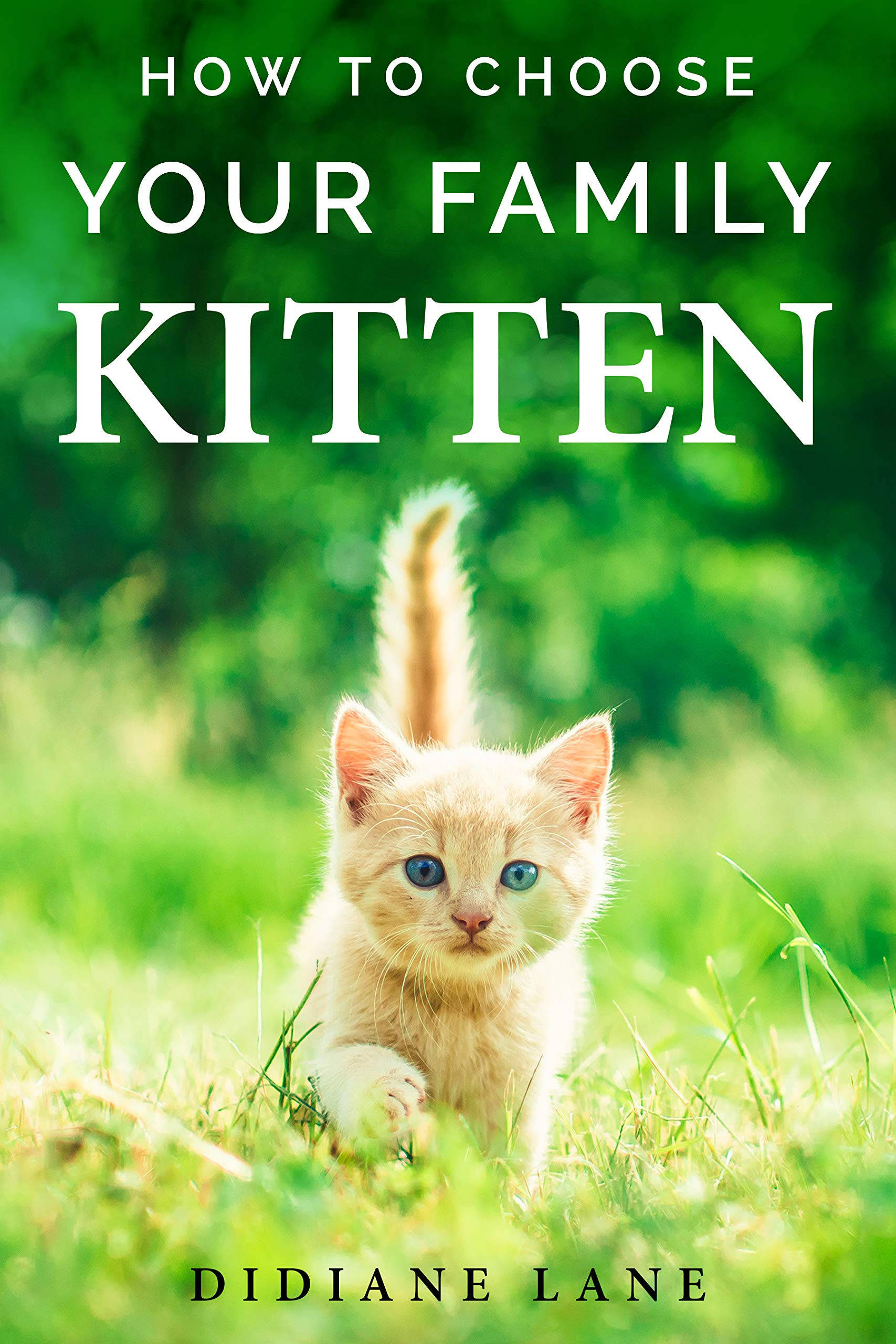 How to Choose Your Family Kitten: The Art of Raising a Kitten, a Practical Guide to Make Them Part of the Family and Friendly with Children.