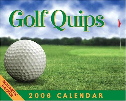Golf Quips: 2008 Mini Day-to-Day Calendar