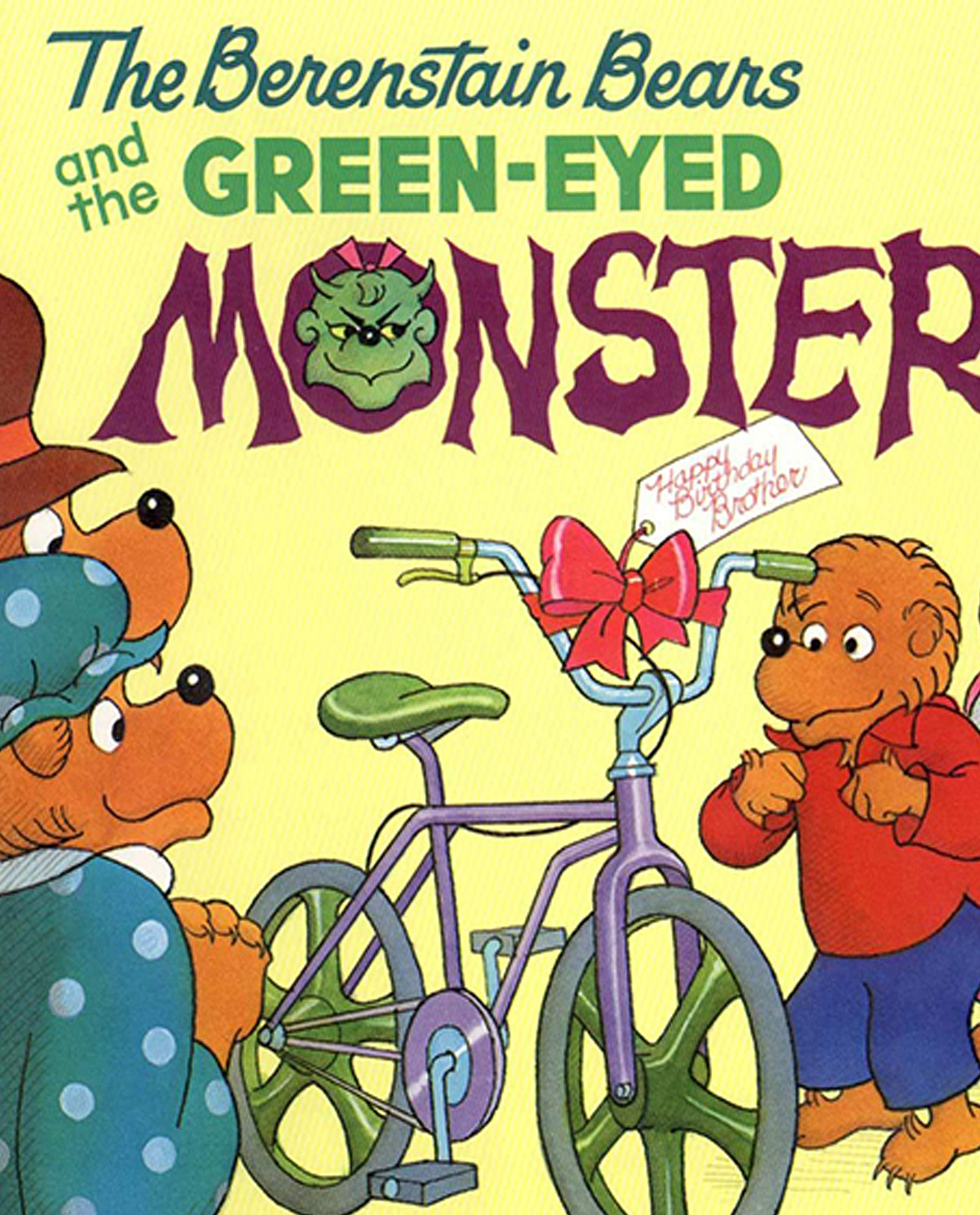 The Berenstain Bears and the Green Eyed Monster: Recommended for classic children's picture books