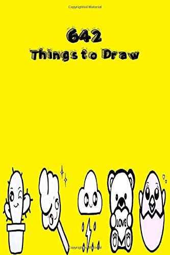 642 Things to Draw: Inspirational Sketchbook to Entertain and Provoke the Imagination(Drawing for Kids, Drawing Books, How to Draw Books, Doodle Books, Gifts for Artist)