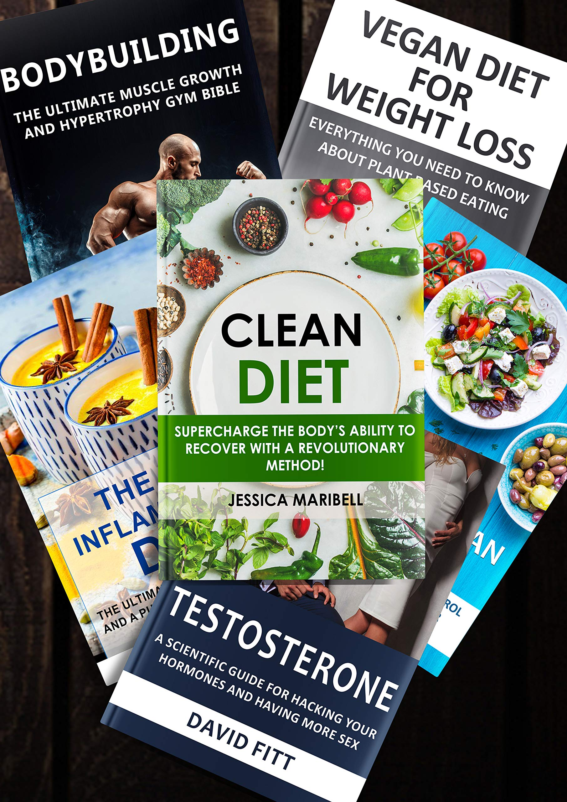 How Not To Diet: 6 Books in 1, The Groundbreaking Science of Healthy, Permanent Weight Loss With Bodybuilding Strategies